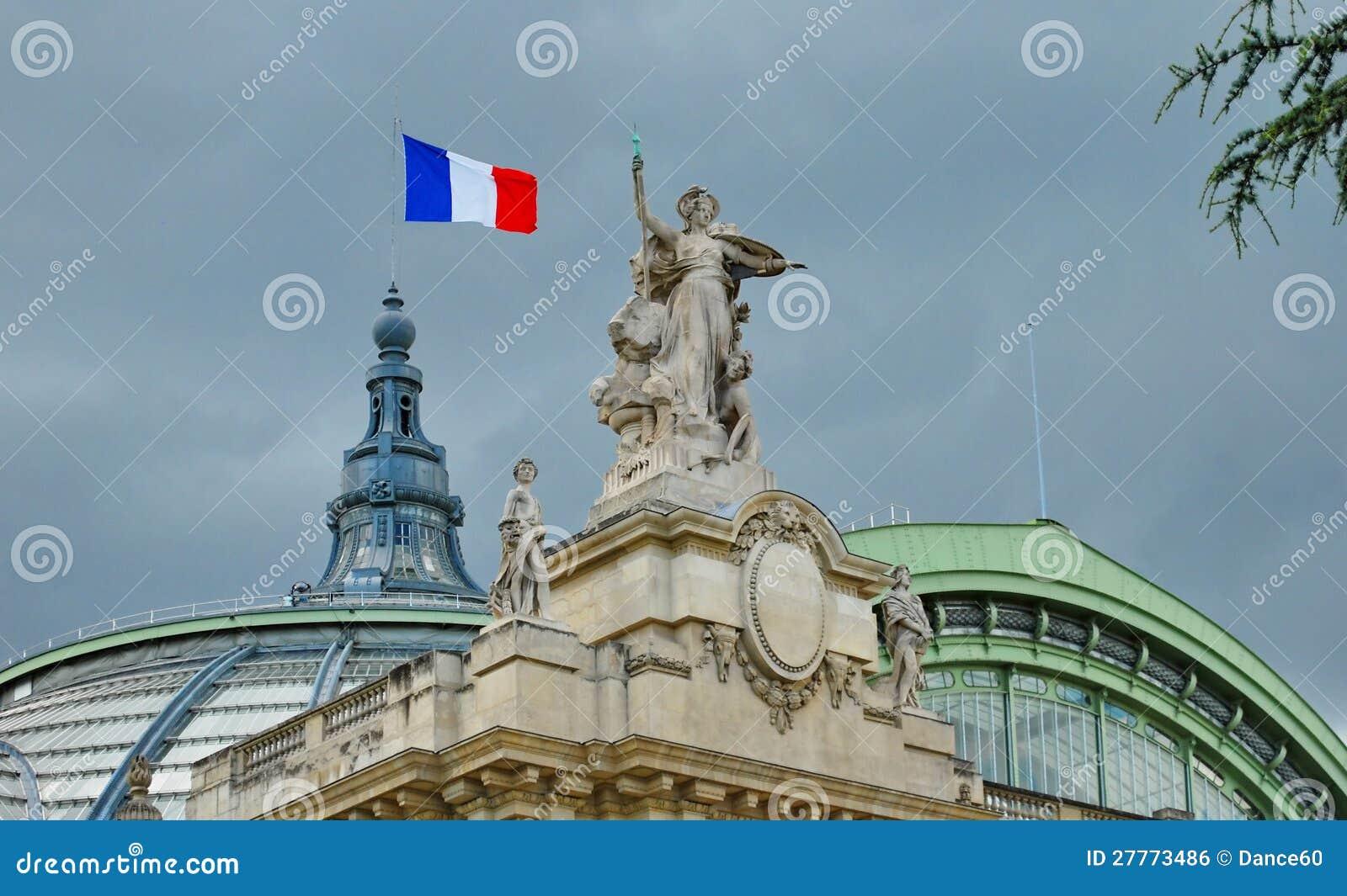 Le palais grand à Paris