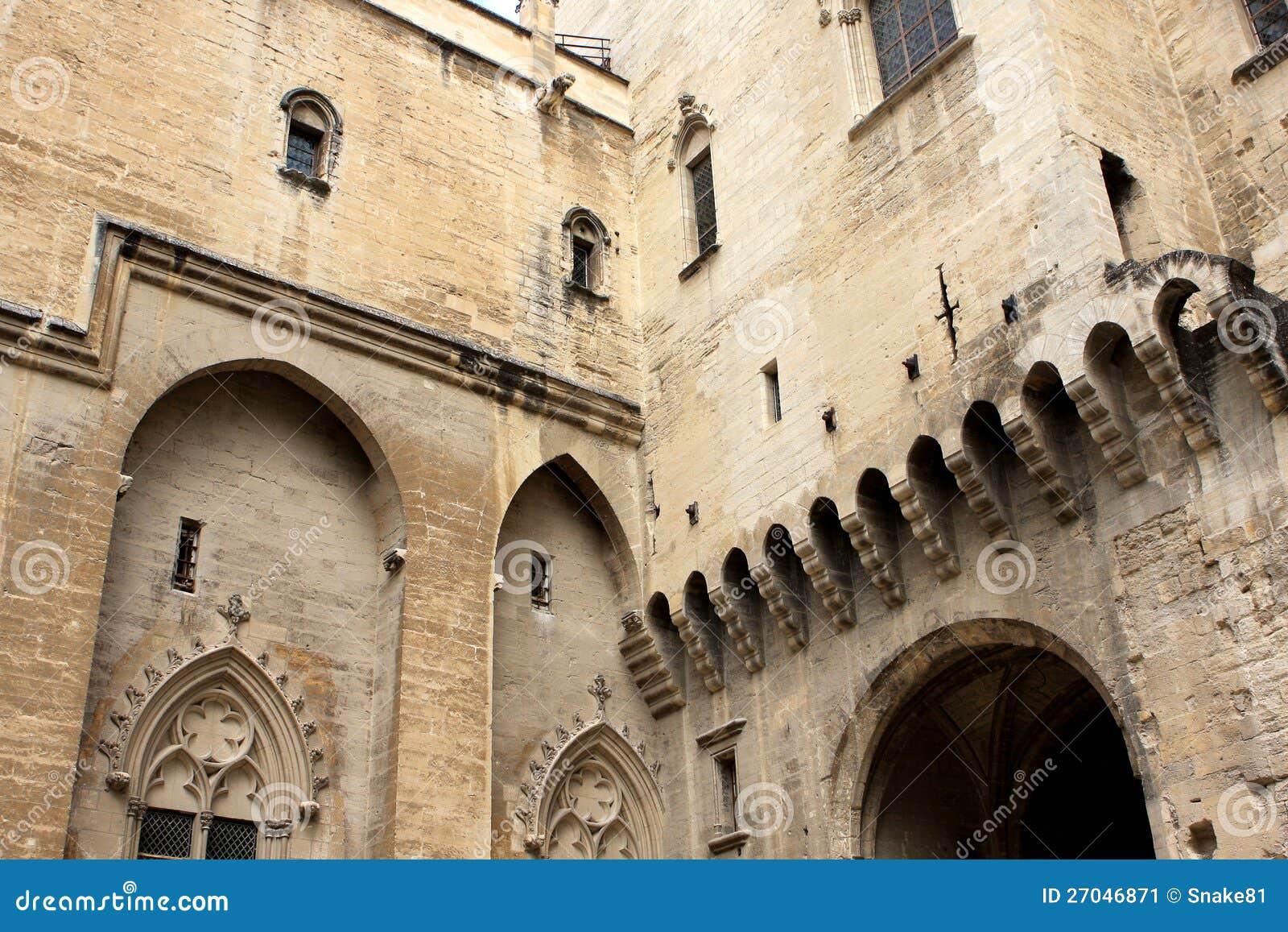 Le palais papal, Avignon