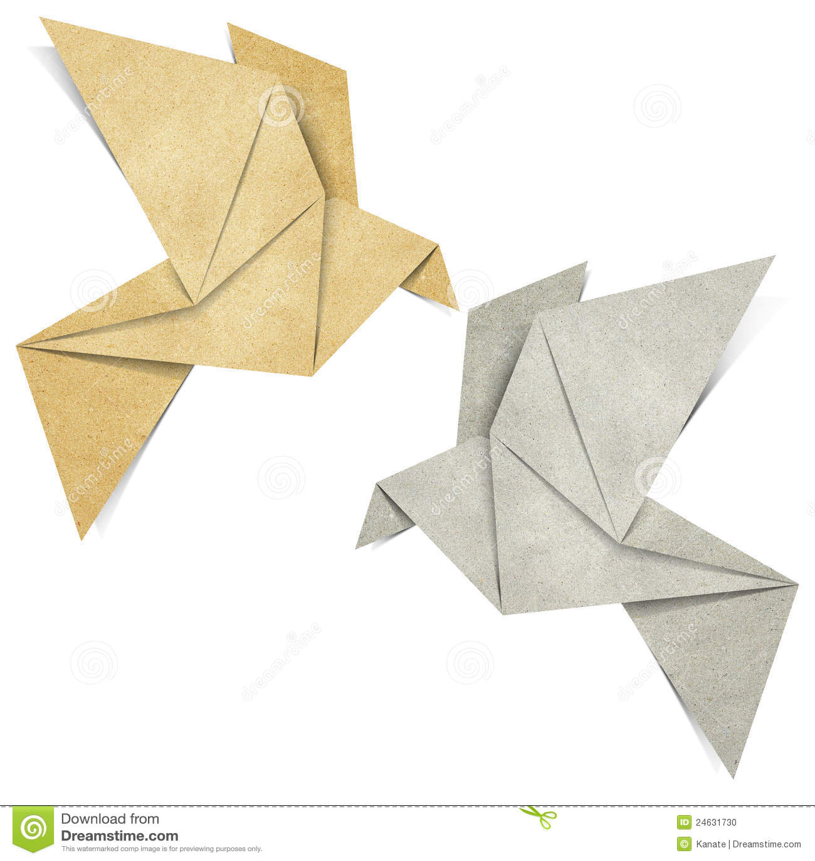 le papercraft d 39 oiseau d 39 origami effectu partir. Black Bedroom Furniture Sets. Home Design Ideas