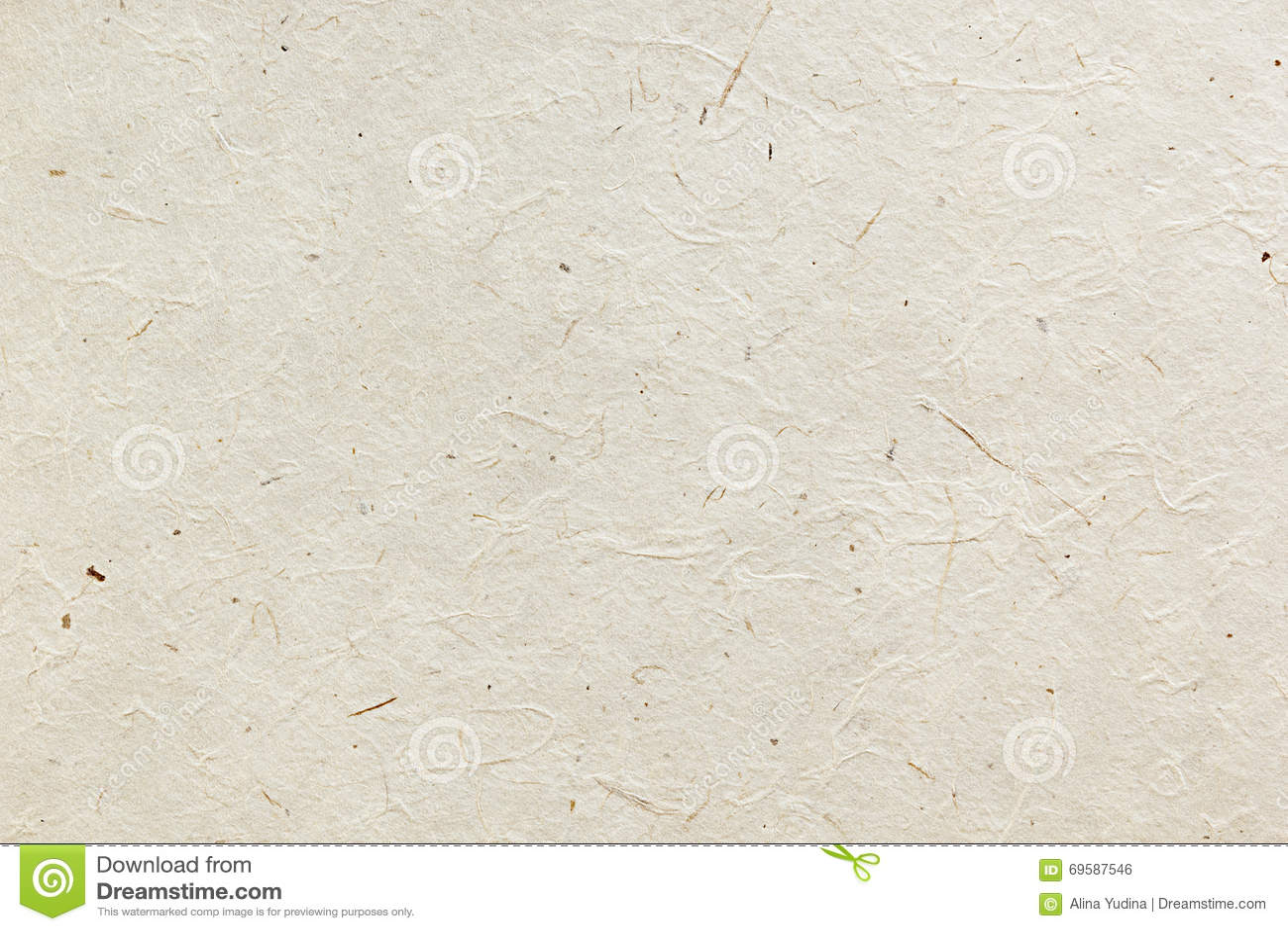 Le papier de riz de texture