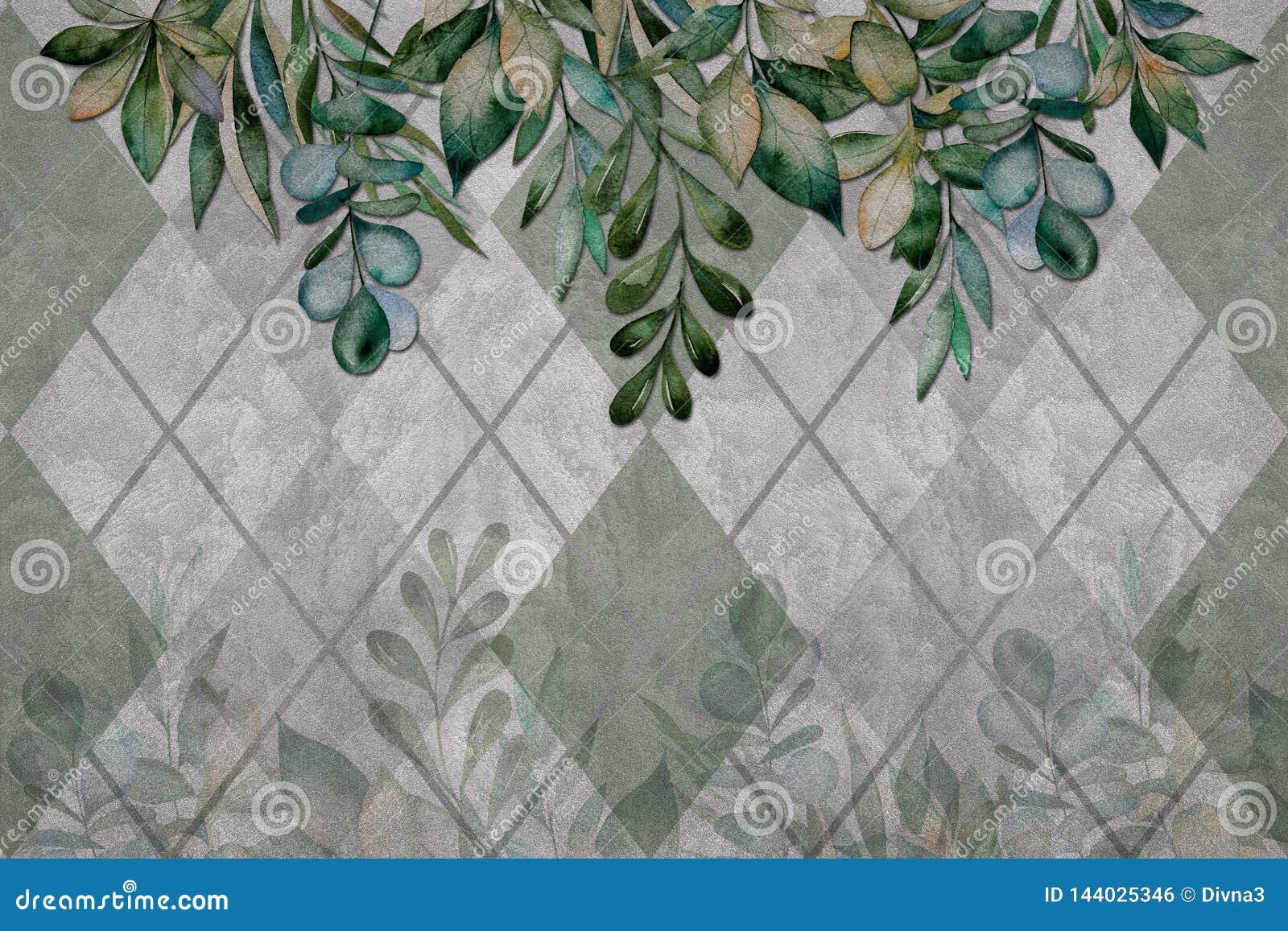 Le Papier Peint 3d Laisse La Texture Sur Le Mur De Ciment