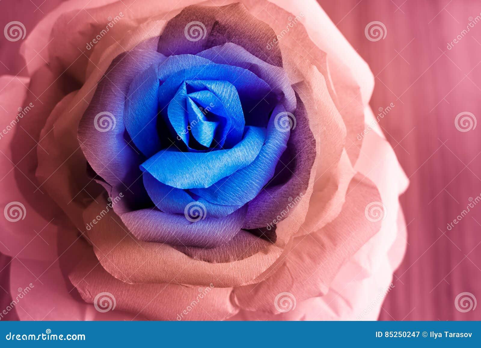 Le Papier Pittoresque S Est Leve Origami Fleur Multicolore Geante