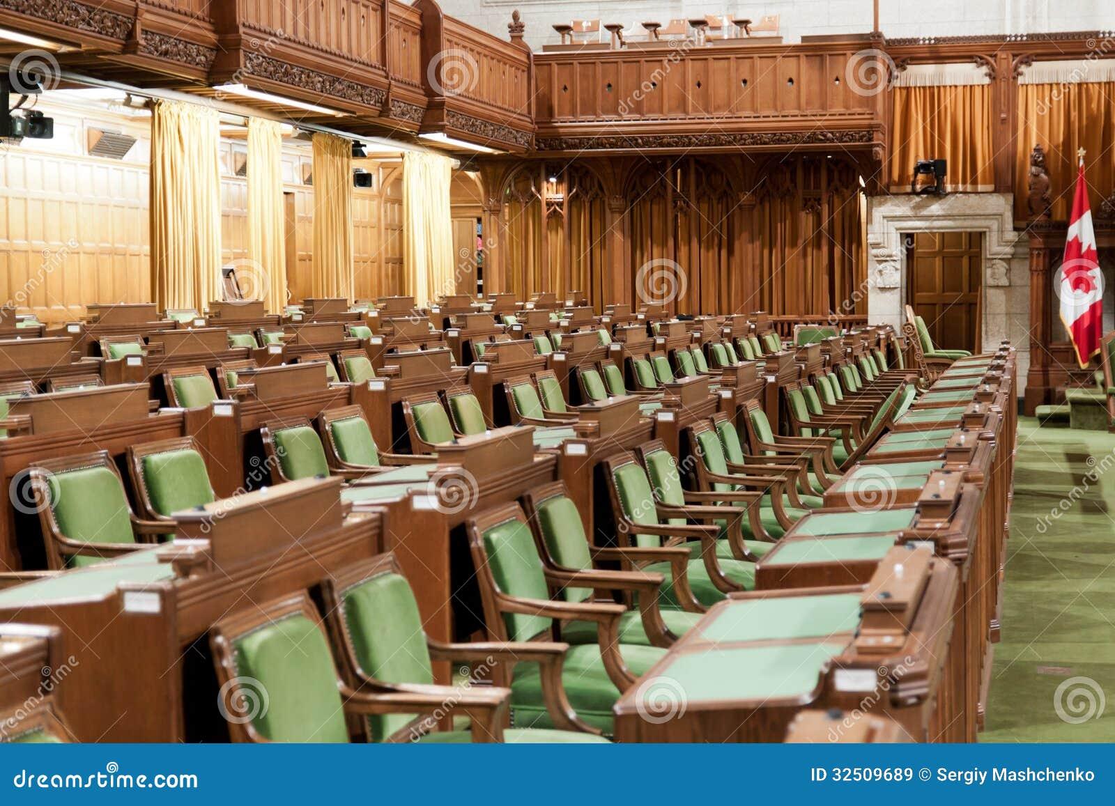 Le parlement canadien la chambre des communes image for Chambre de communes