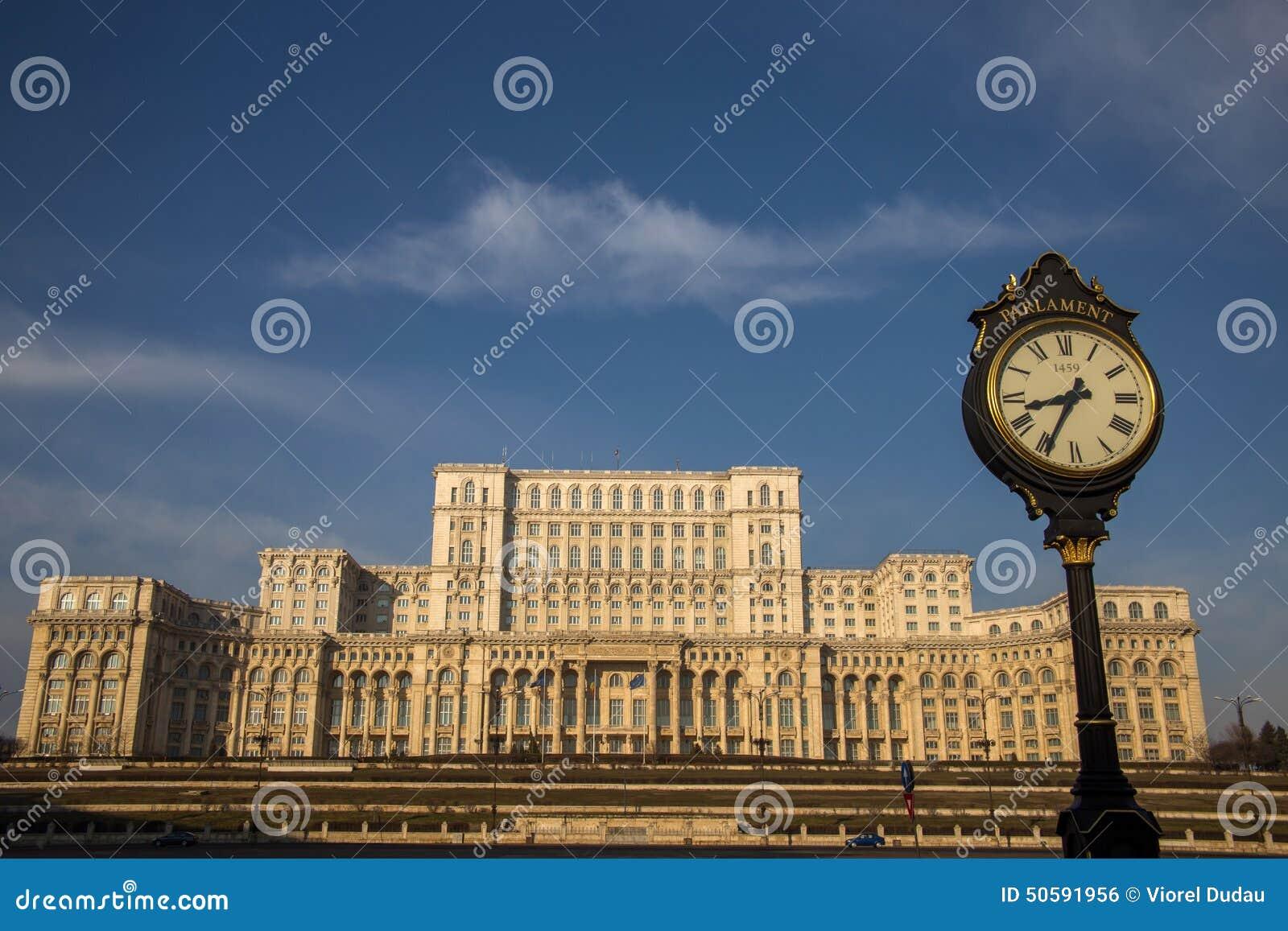 Le Parlement roumain (maison Poporului), Bucarest
