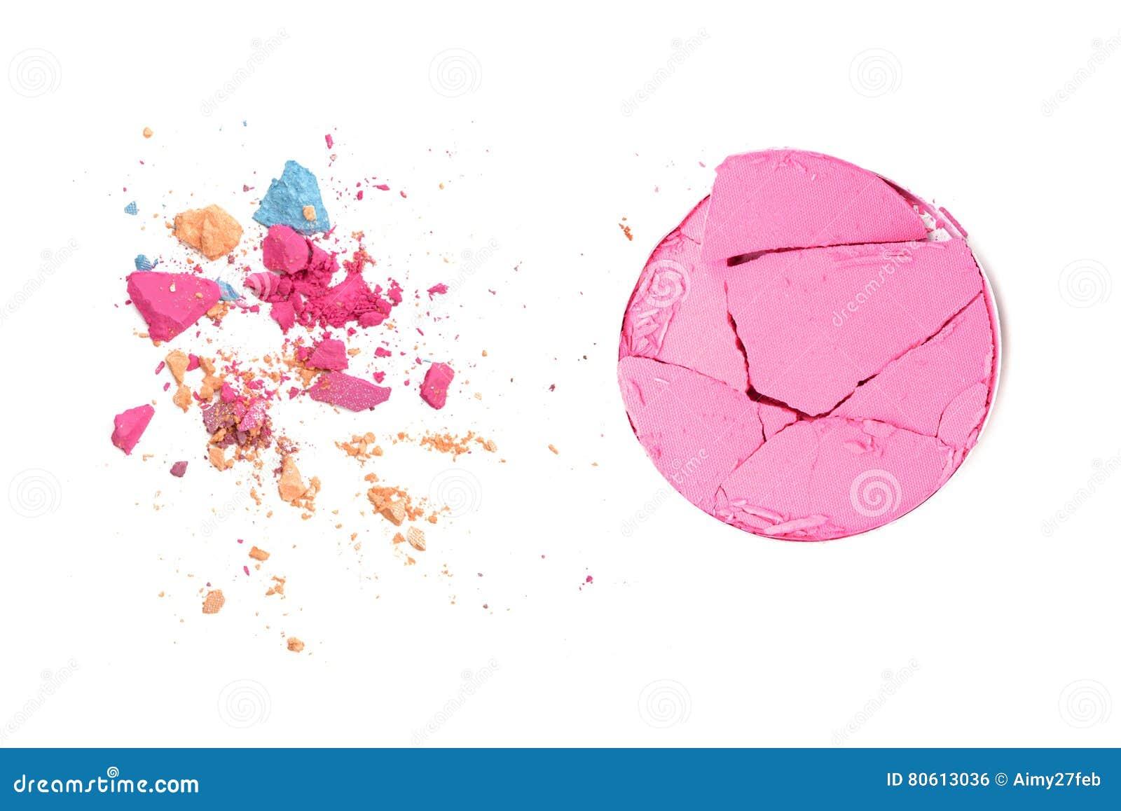 Le pastel composent des miettes de fond de couleur