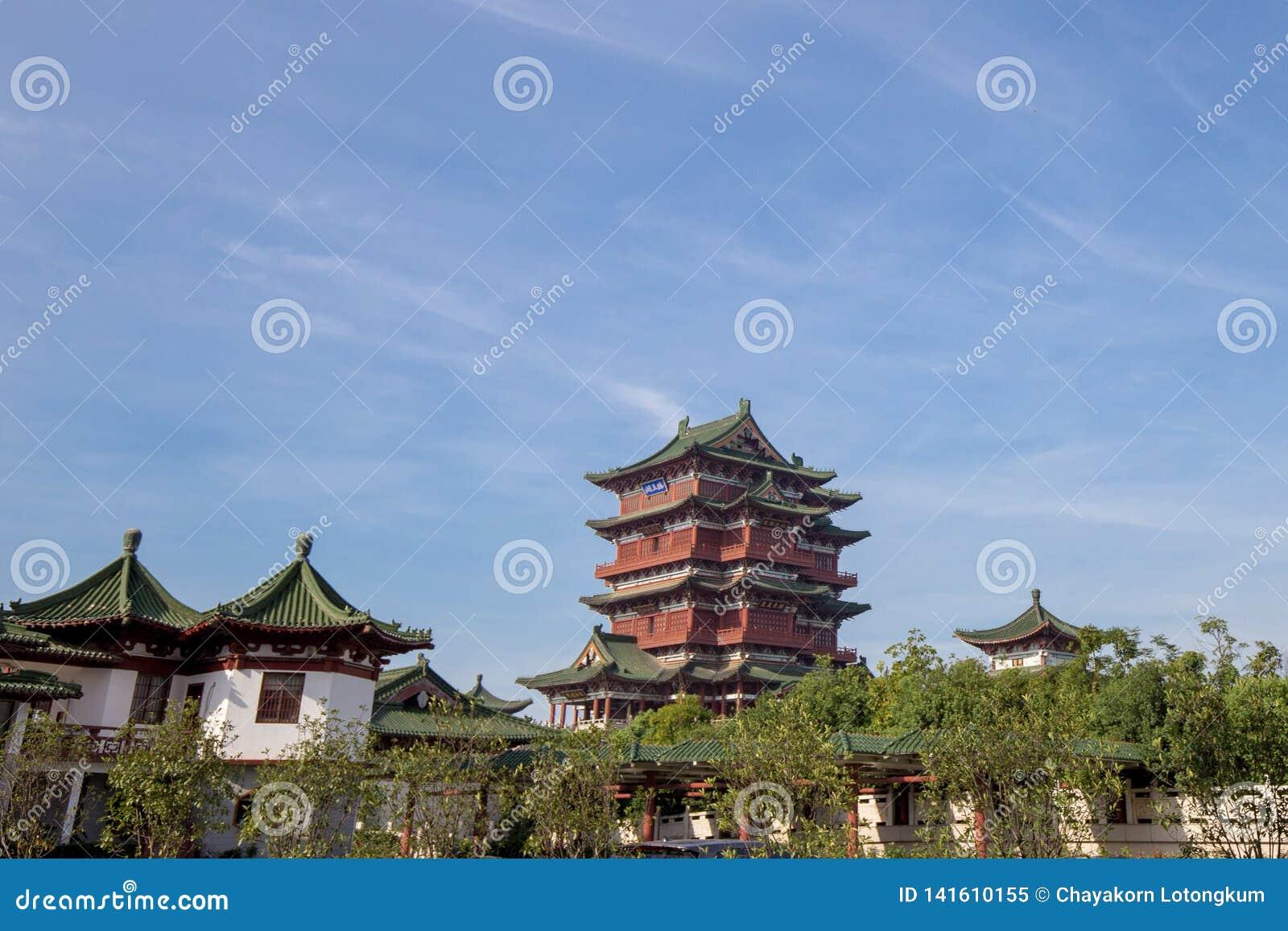 Le pavillon de Tengwang à Nan-Tchang