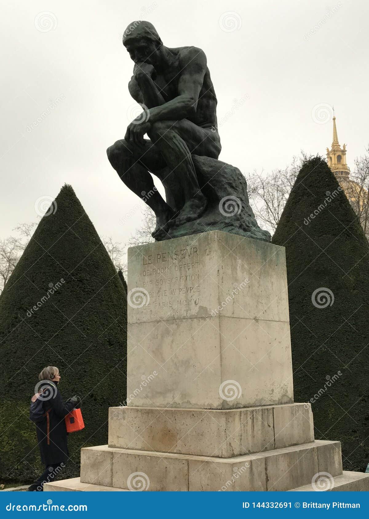 Le penseur par Rodin