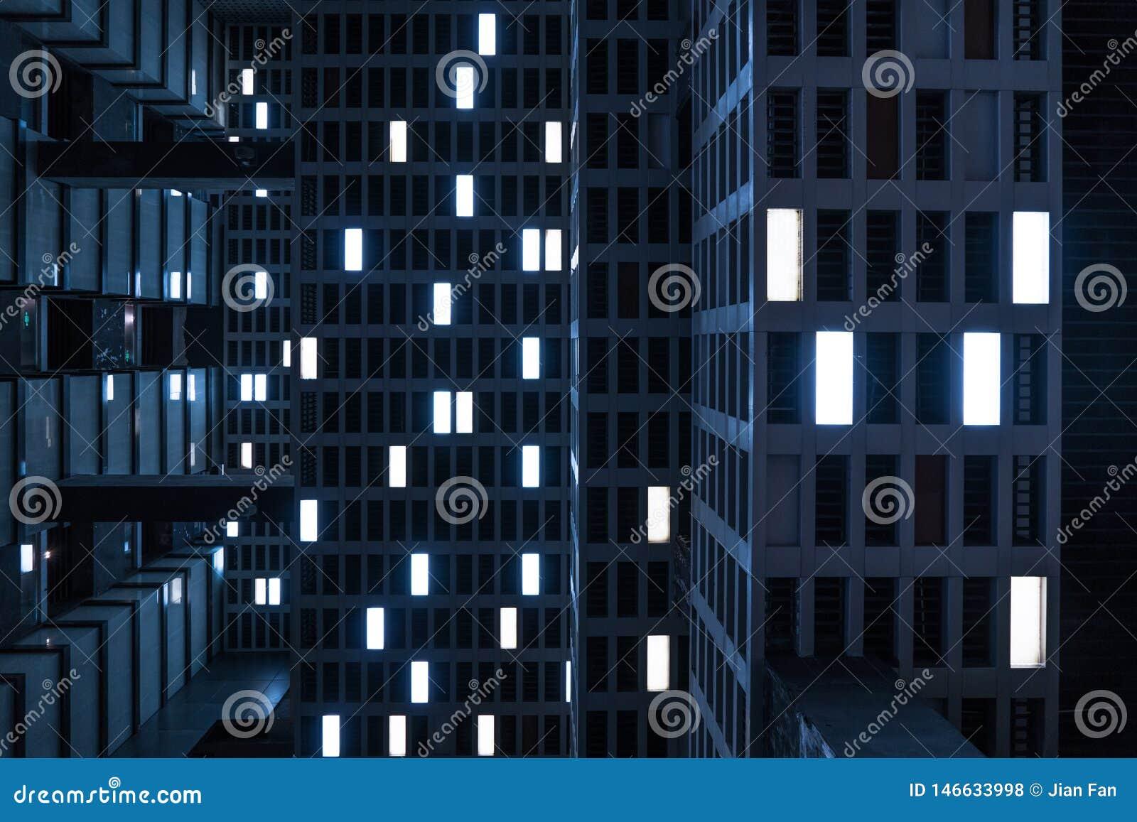 Le phare dans la d?cellulation Sens de film de science-fiction