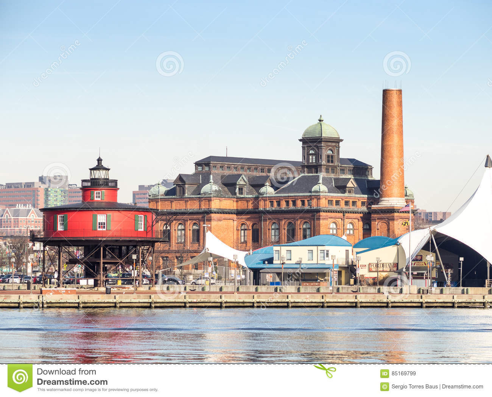 Le phare de Baltimore