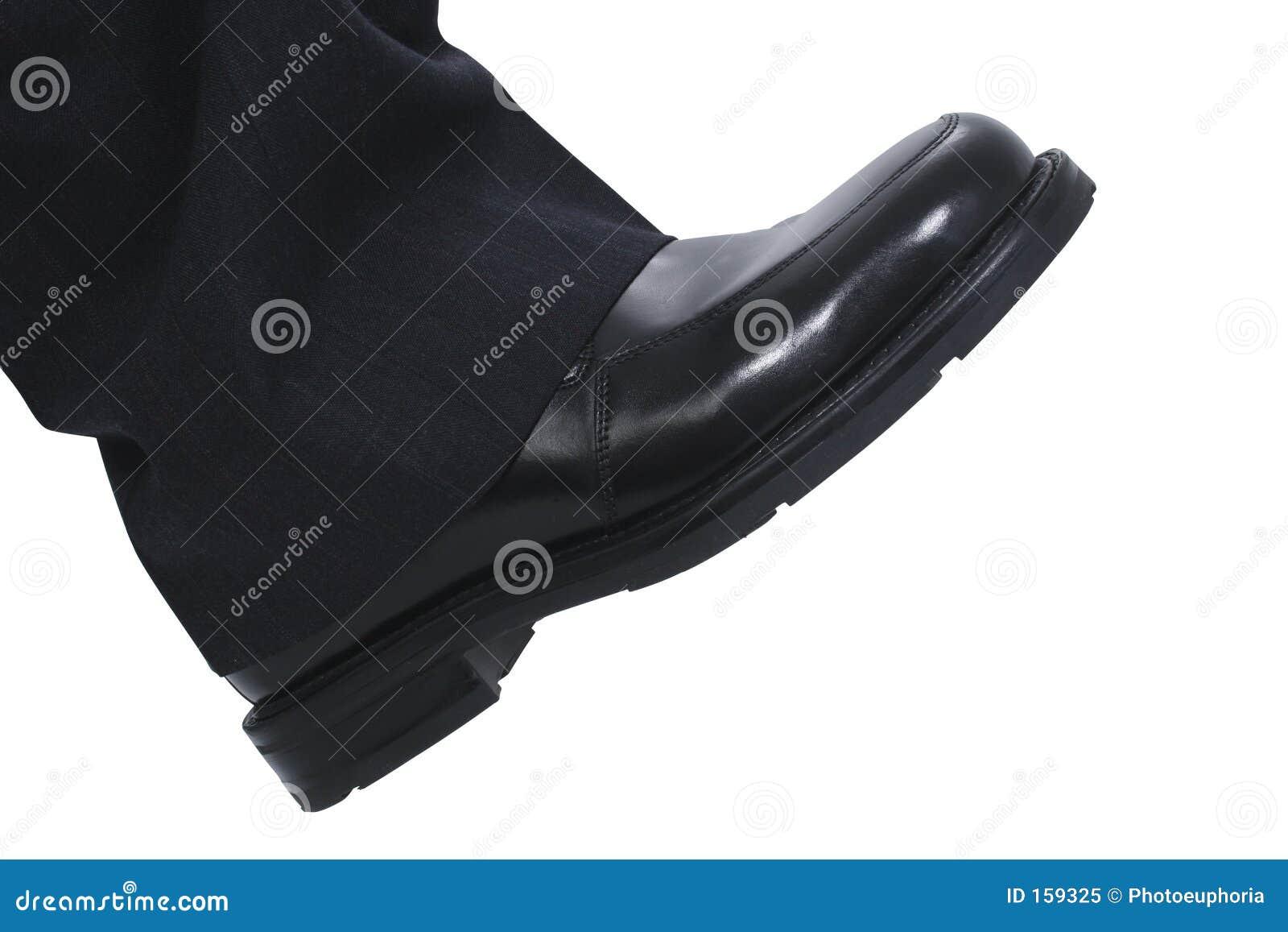 Le pied de l homme d affaires