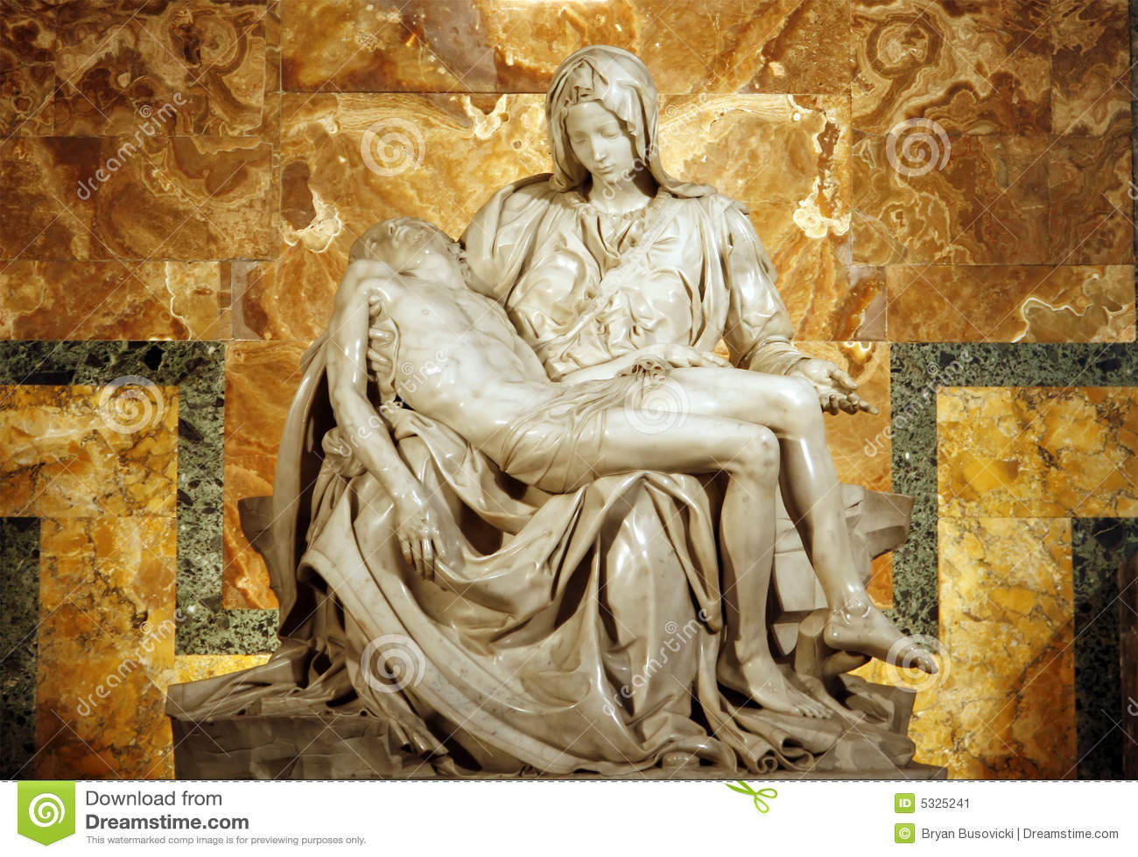 Le Pieta de Michaël Angelo
