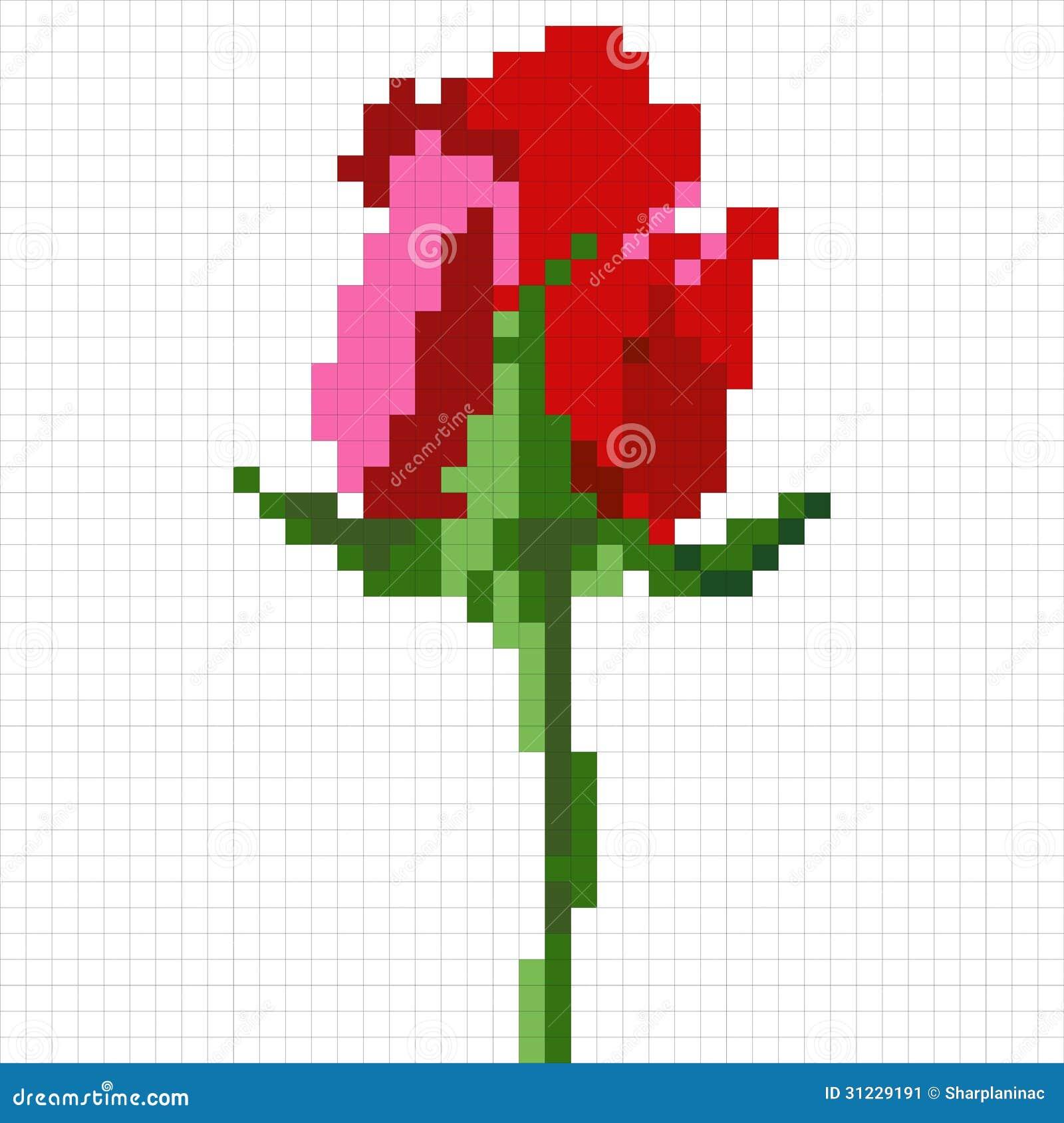 Le Pixel Sest Levé Illustration De Vecteur Illustration Du
