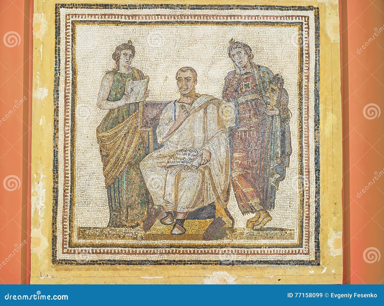 Le poète antique