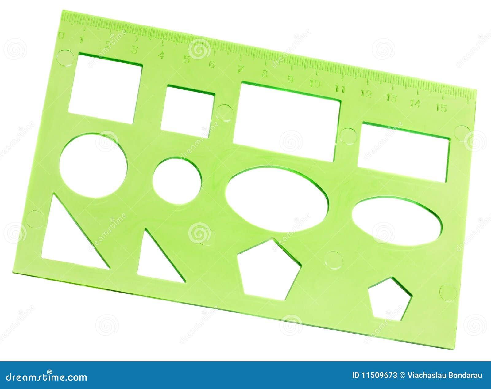 Le pochoir vert photos stock image 11509673 for Pochoir geometrique