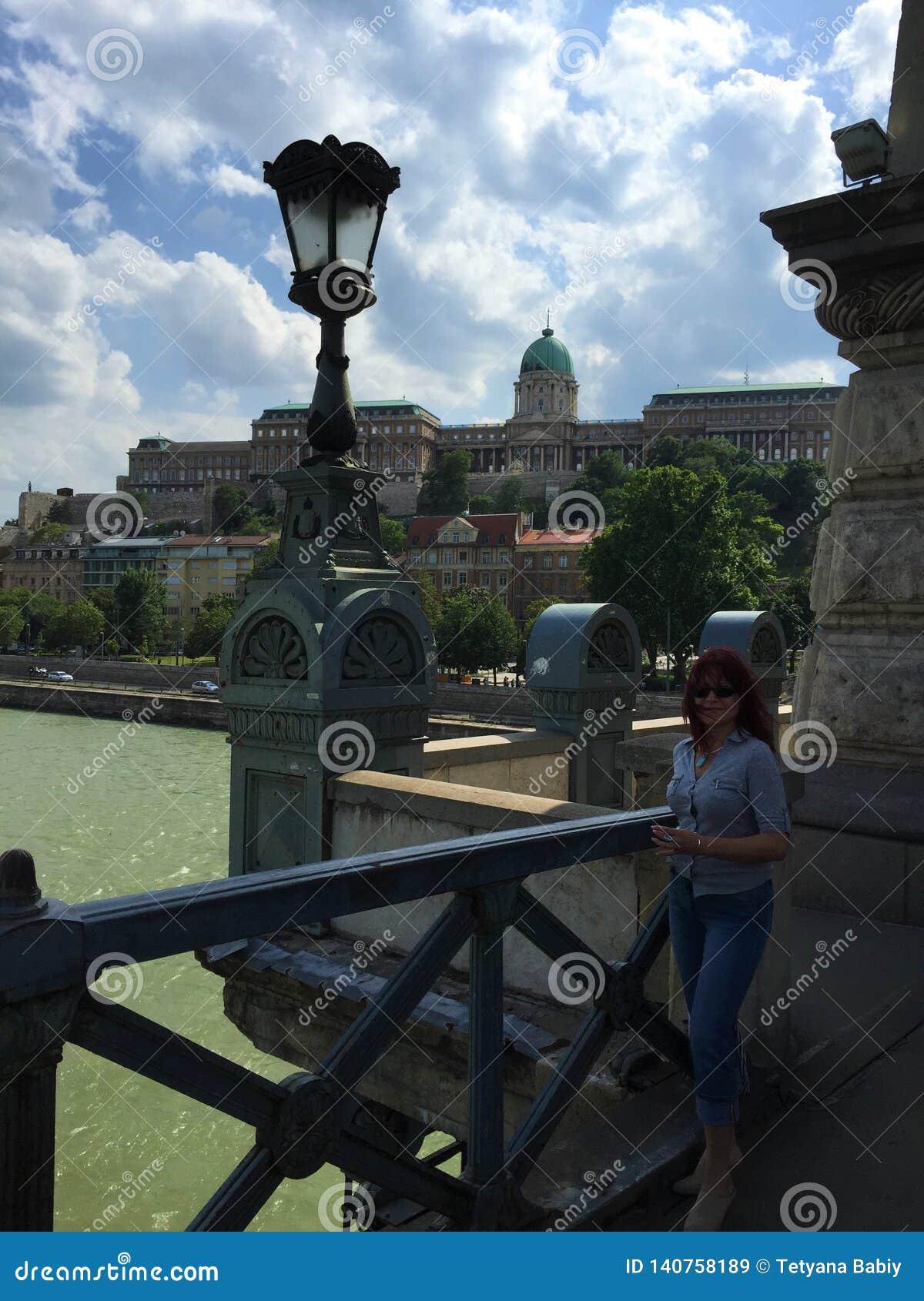 Le pont à chaînes de Széchenyi - Budapest, Hongrie