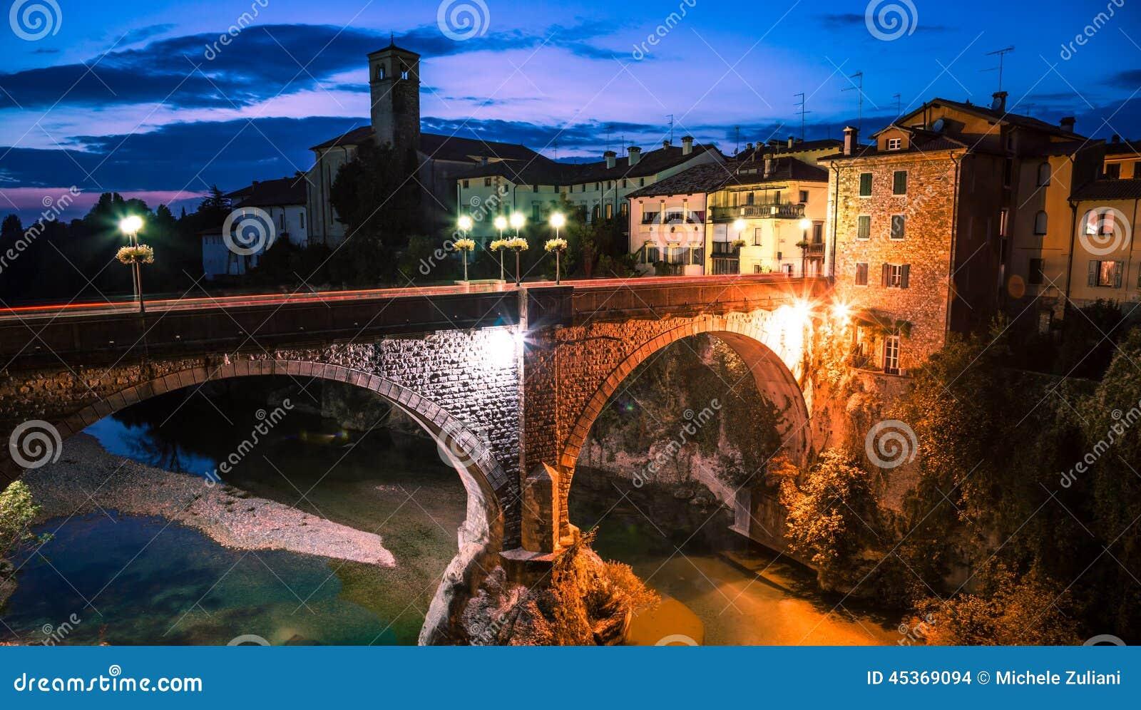Le pont du diable de Cividale del Friuli