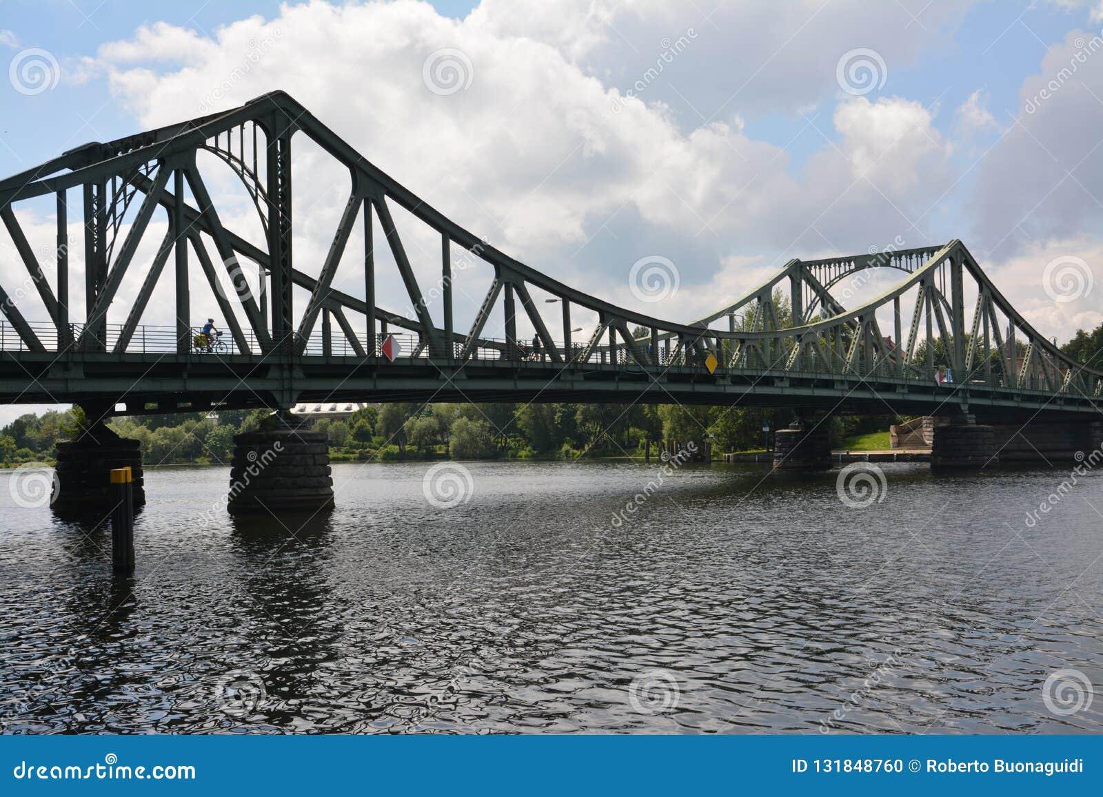 Le pont Glienicke à Berlin, a également appelé les espions du pont OD