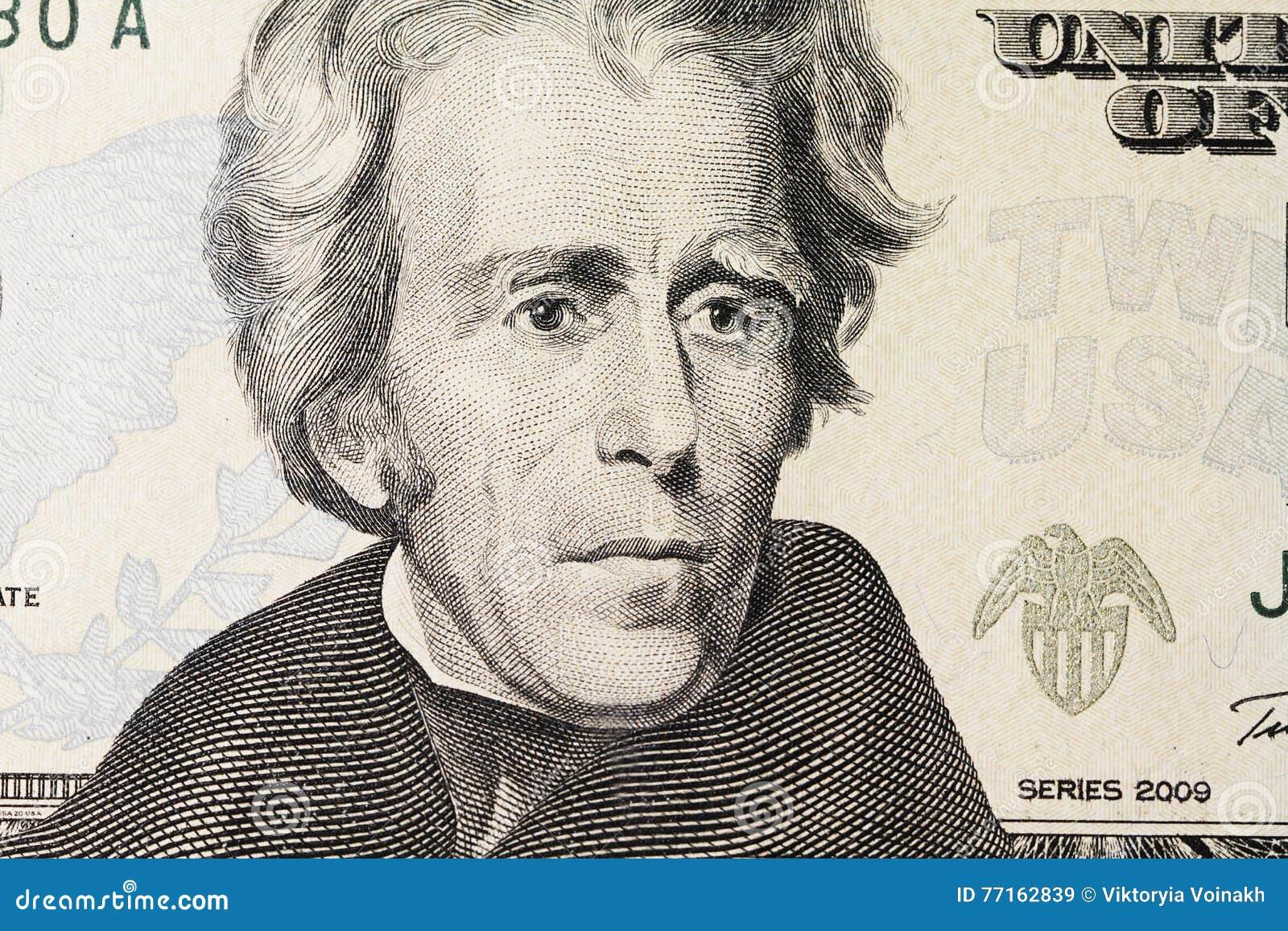Le portrait de Jackson sur le dollar