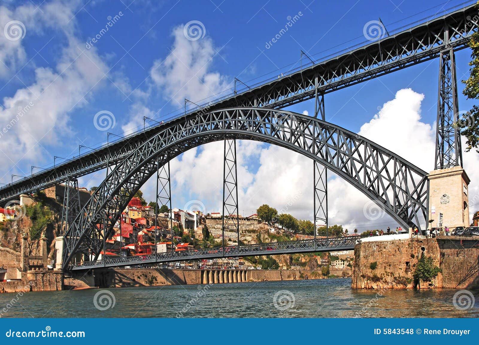 Le Portugal, Porto ; passerelle D.Luis