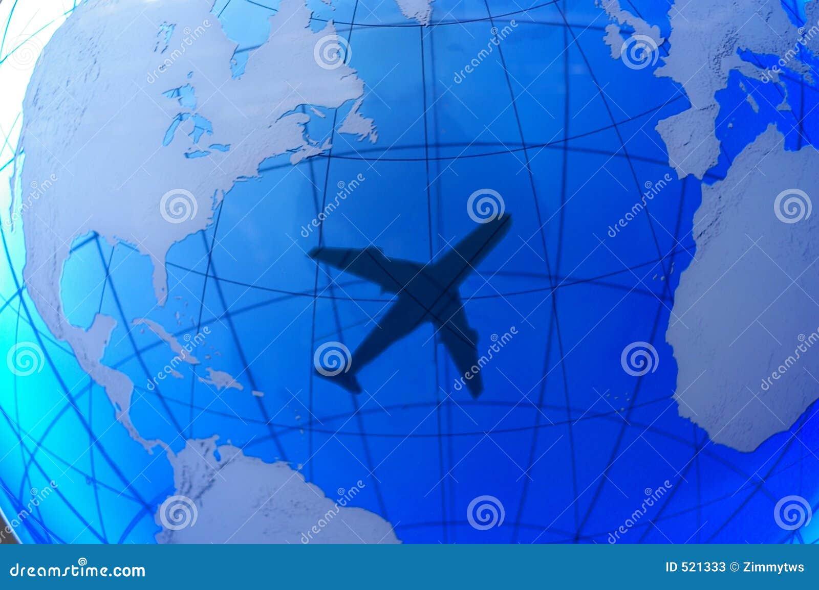 Le positionnement d avion à réaction