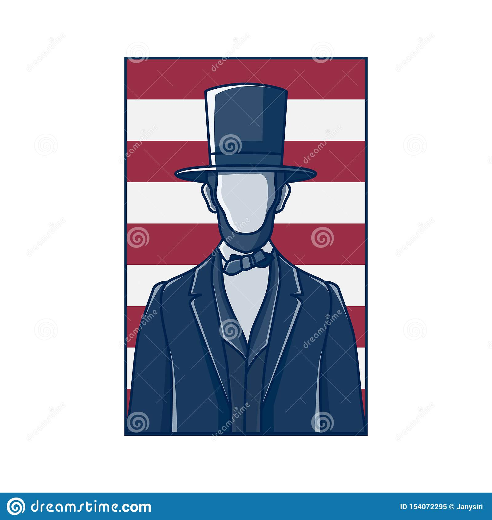 Le Président Abraham Lincoln, rétro conception
