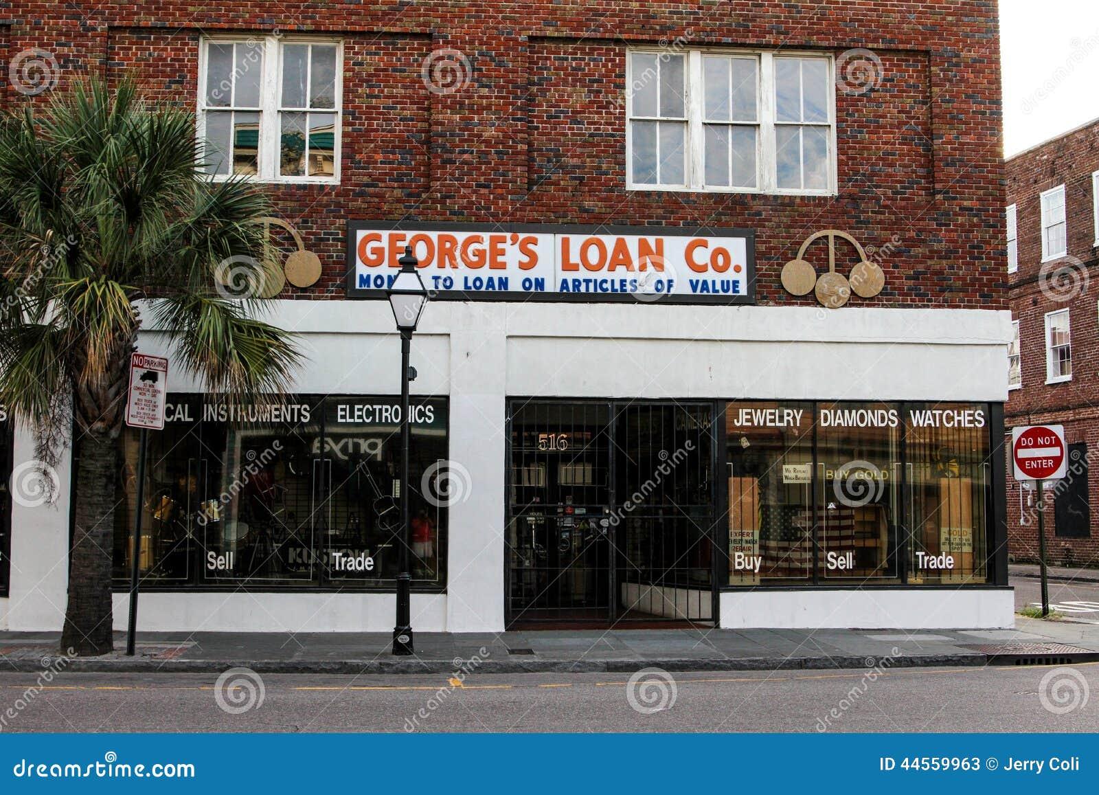 Le prêt Co de George , le Roi Street, Charleston, Sc