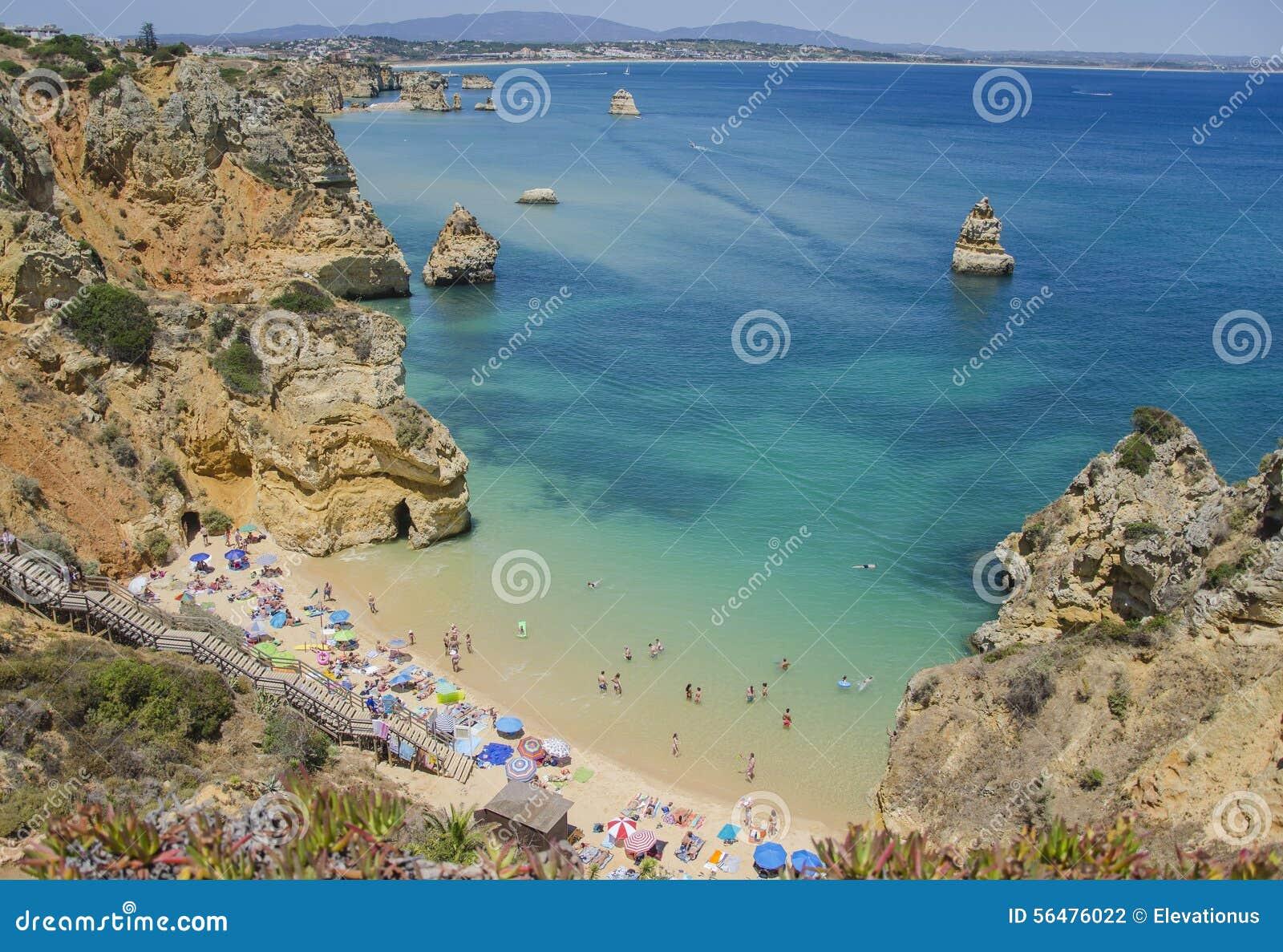 Le Praia font Camilo - Lagos dans Algarve, Portugal