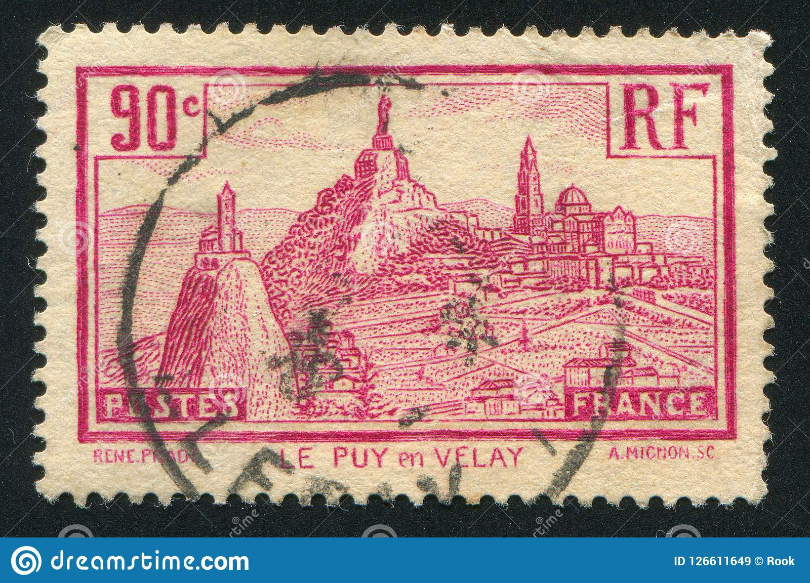 Le Puy de Velay Imagens de Stock Royalty Free