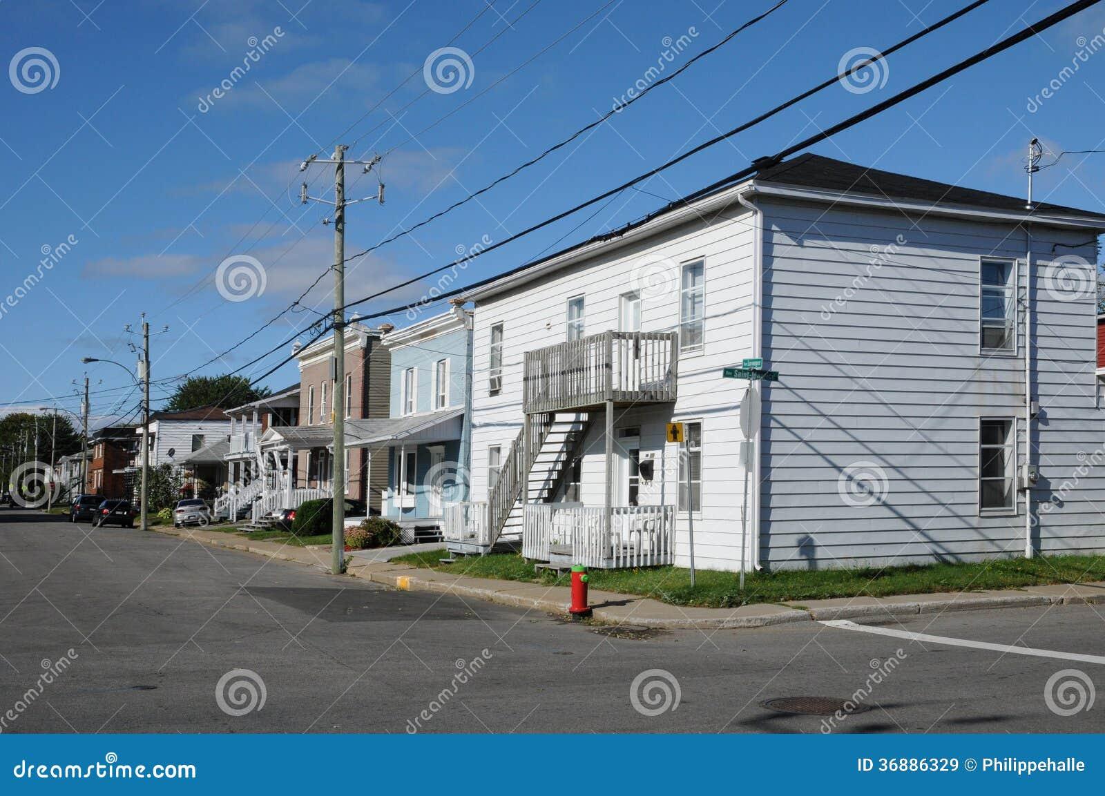 Le Québec, la ville de Trois Rivieres dans Mauricie