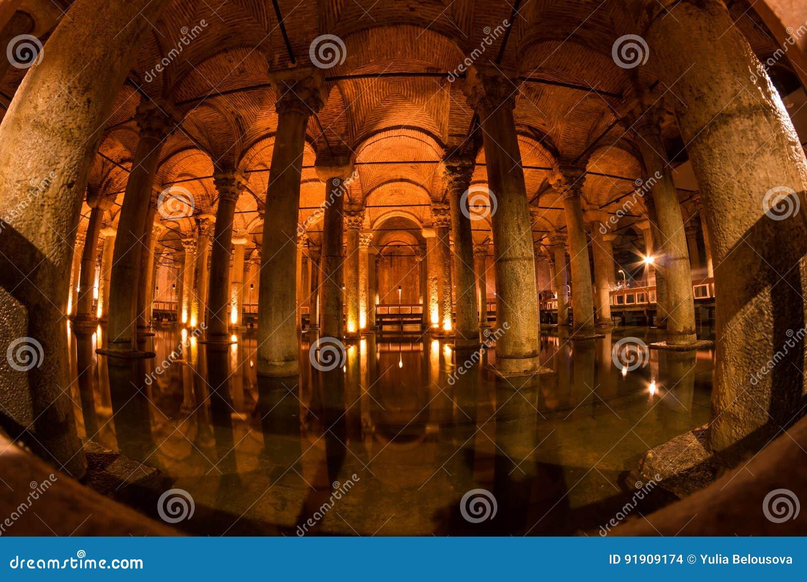 Le réservoir de basilique dans Instanbul
