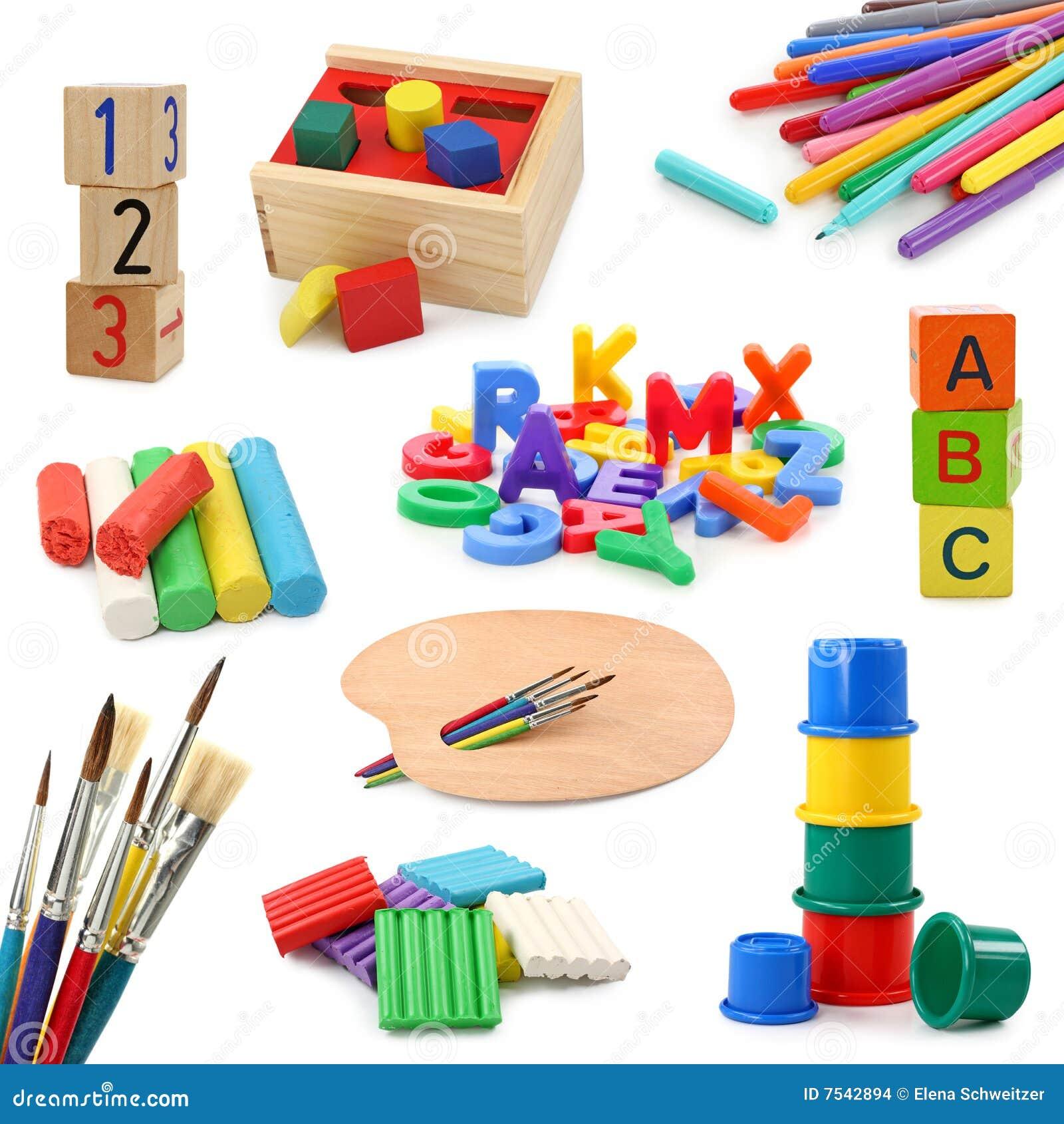 Le ramassage objecte l 39 cole maternelle images stock - Image classe maternelle ...
