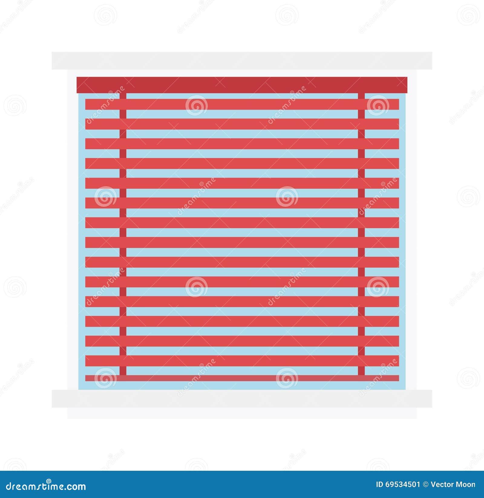 le rideau en fond de volet de jalousie de fen tre aveugle. Black Bedroom Furniture Sets. Home Design Ideas
