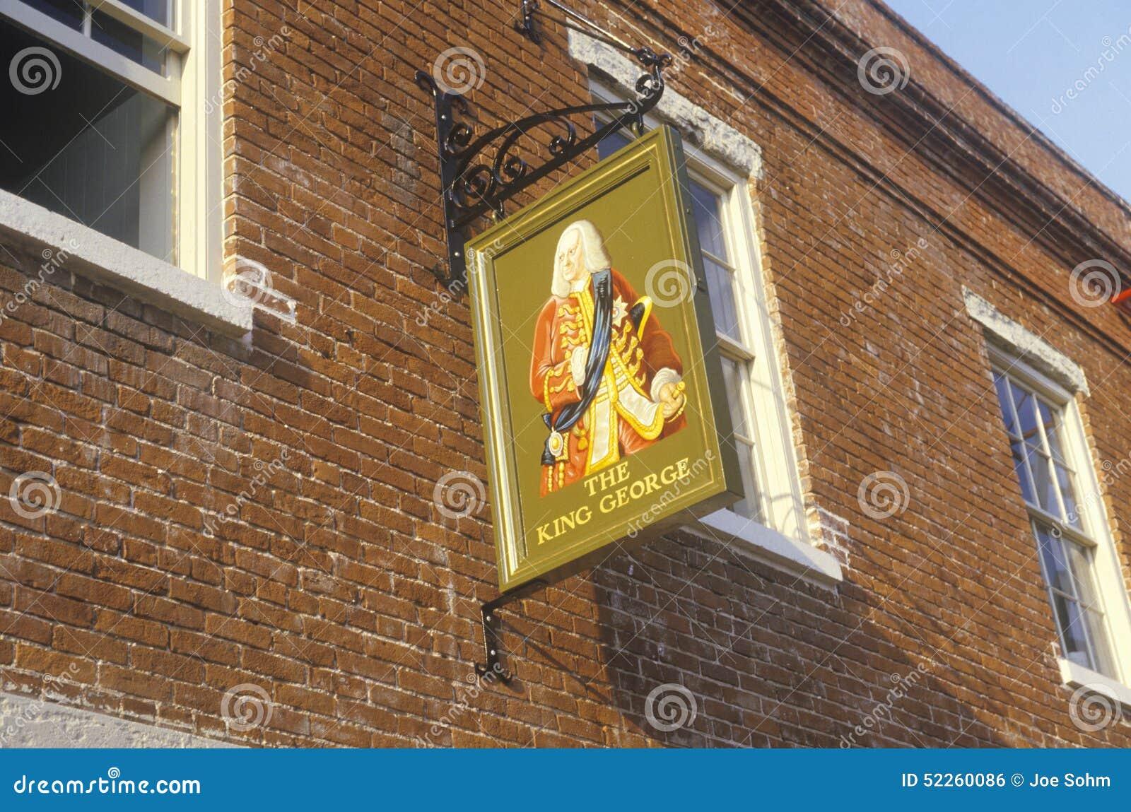 Le Roi George Pub à Charleston historique, Sc