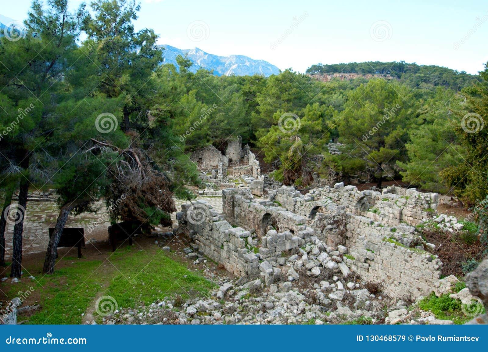 Le rovine delle civilizzazioni antiche ancora extant