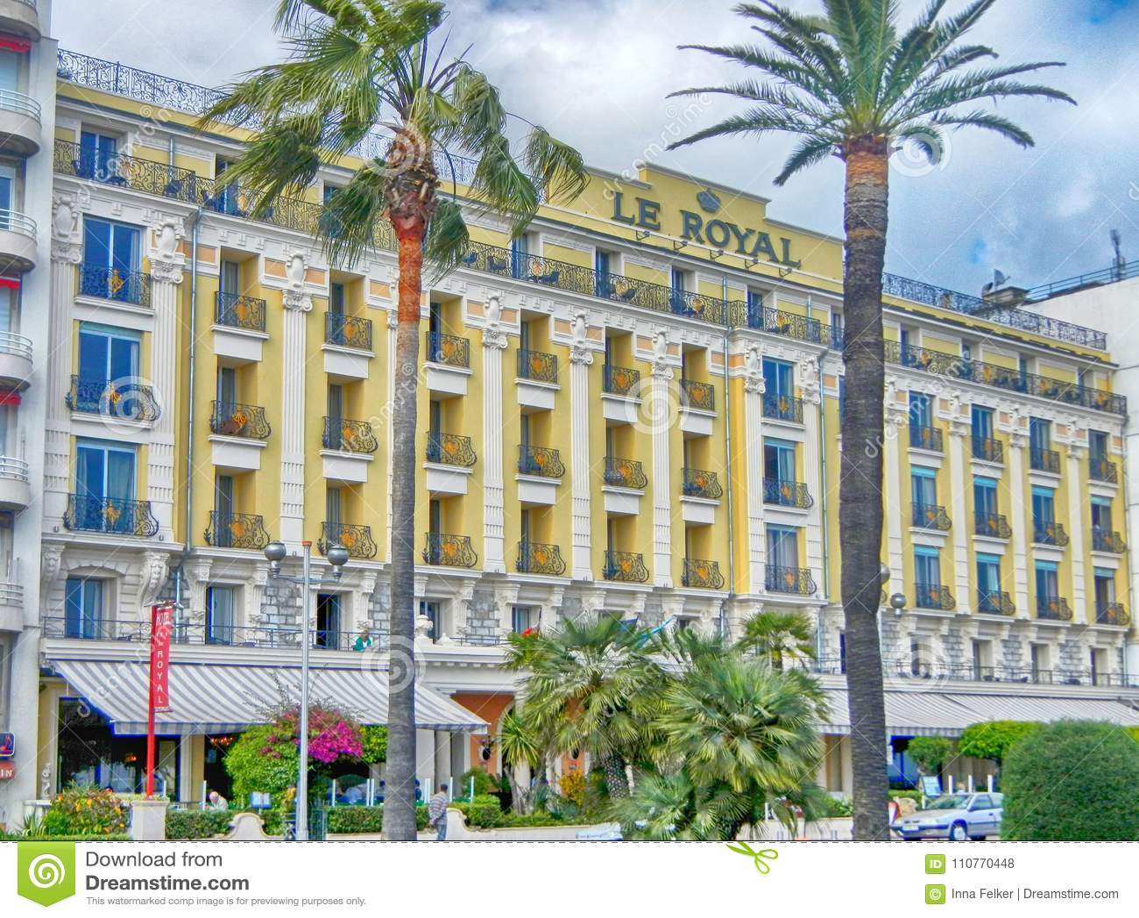 Le Royal,三个星旅馆在尼斯,法国