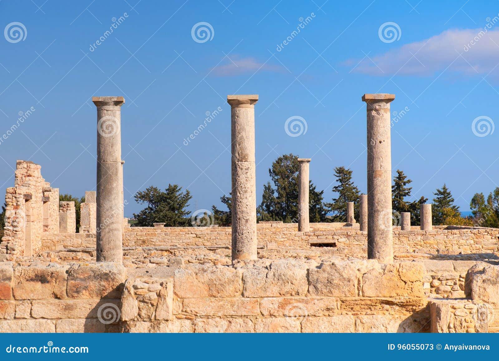 Le sanctuaire d Apollo Hyllates en Chypre, Grèce
