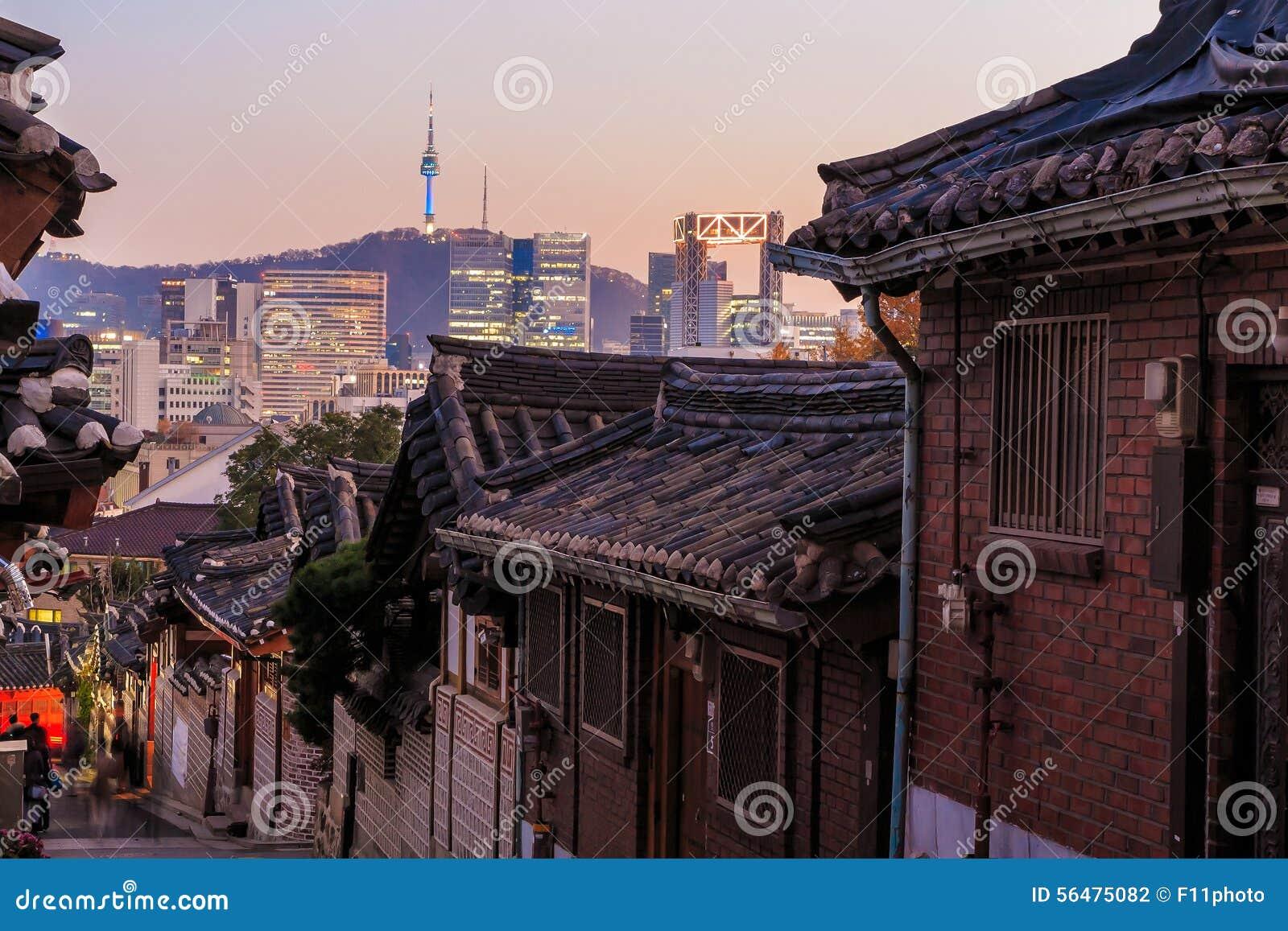 Le secteur historique de Bukchon Hanok