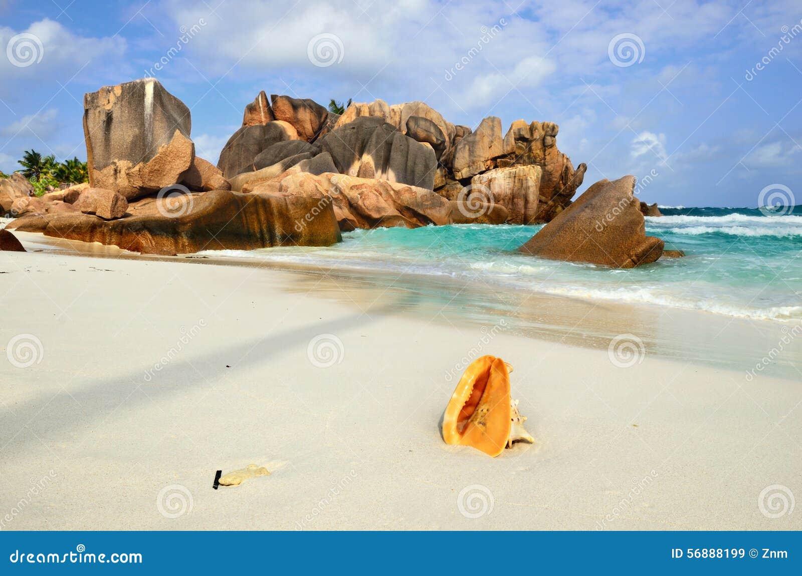 Le Seychelles, digue della La