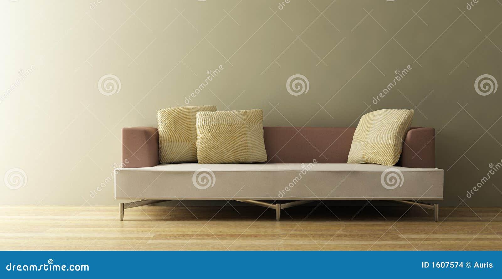 Le sofa moderne 3D