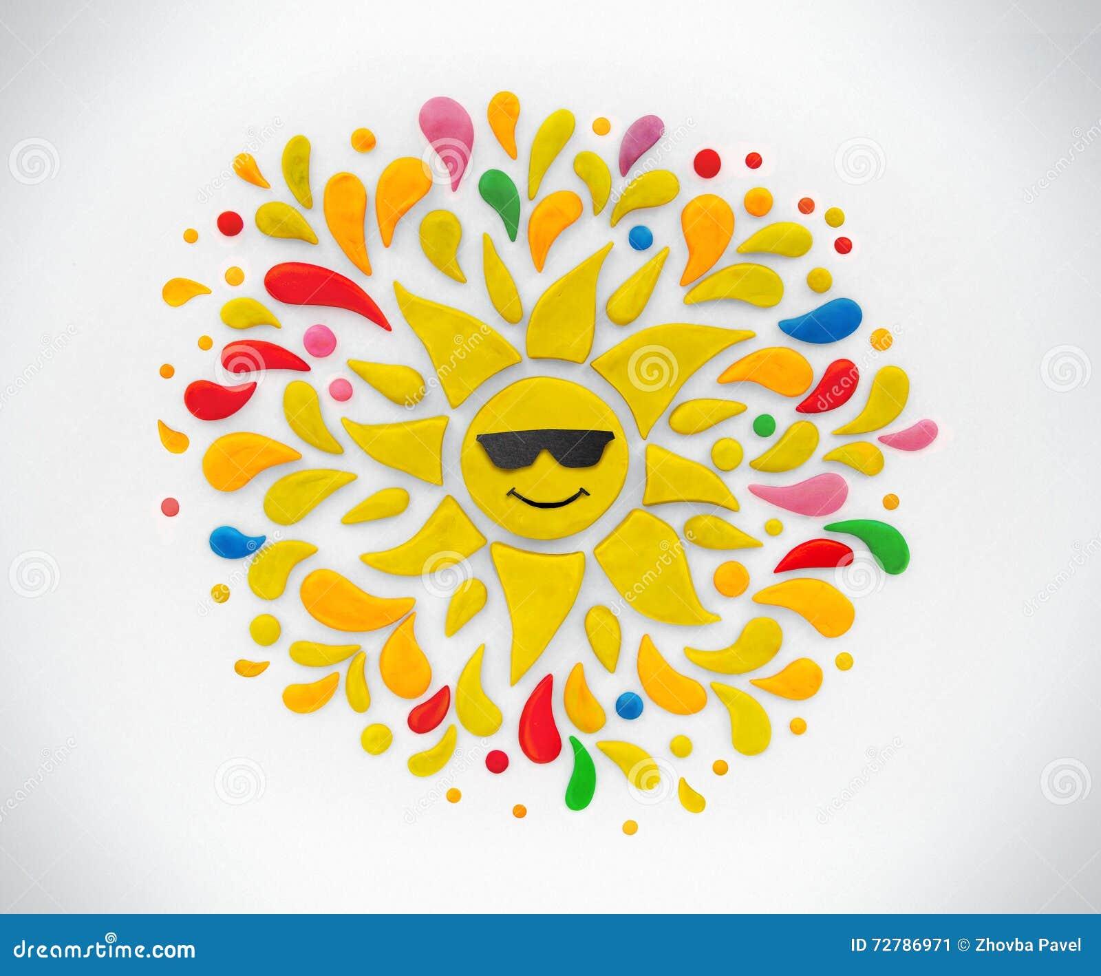 Le soleil décoratif