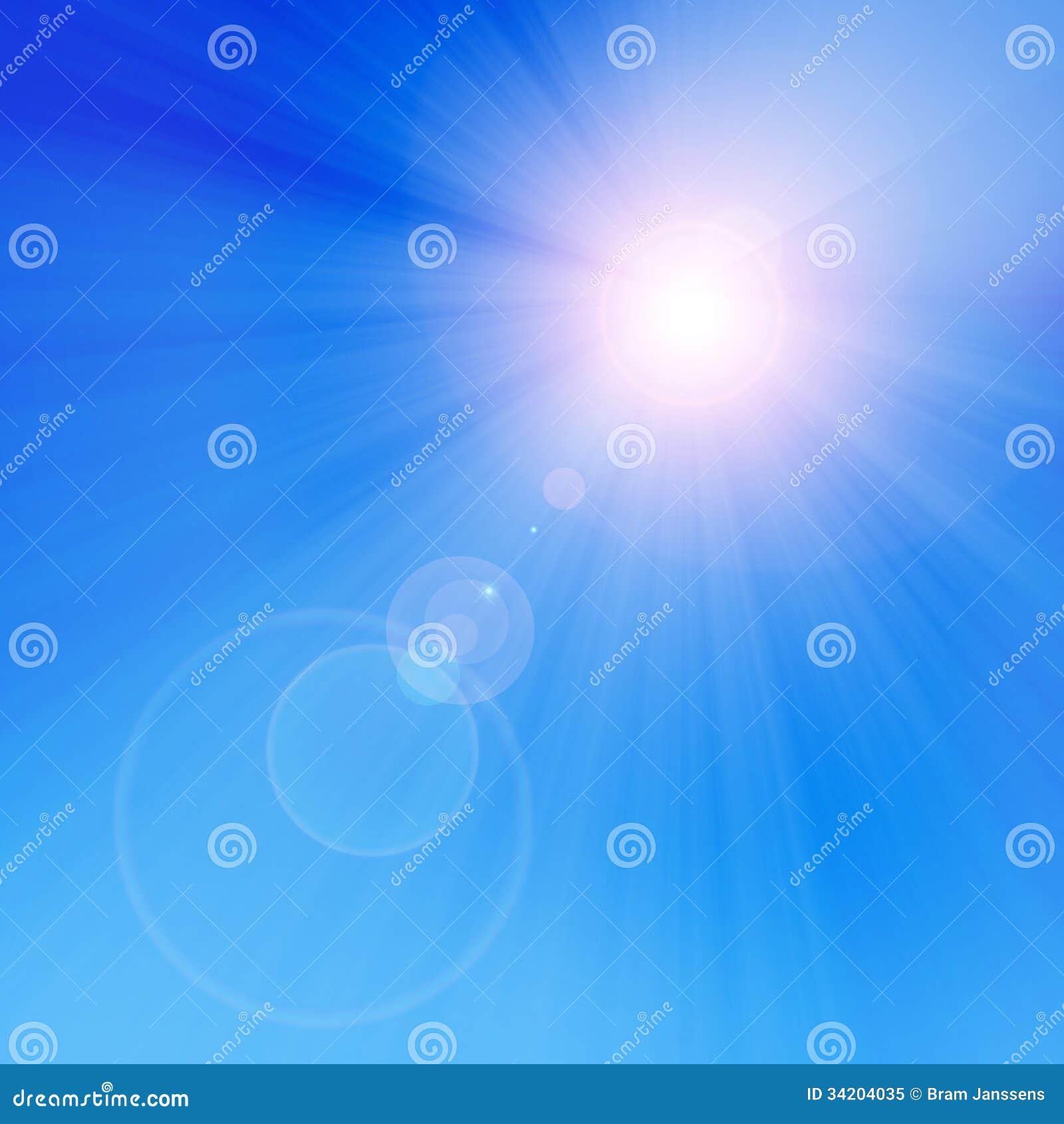 Le soleil d été