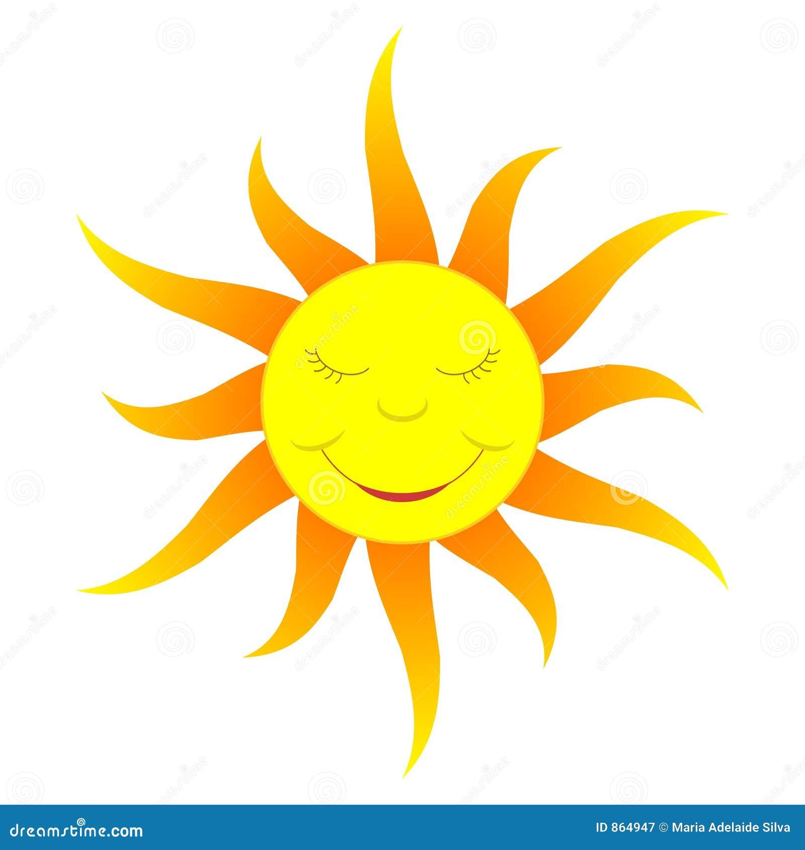 Le soleil de dessin anim couleur de gradient - Dessin du soleil ...
