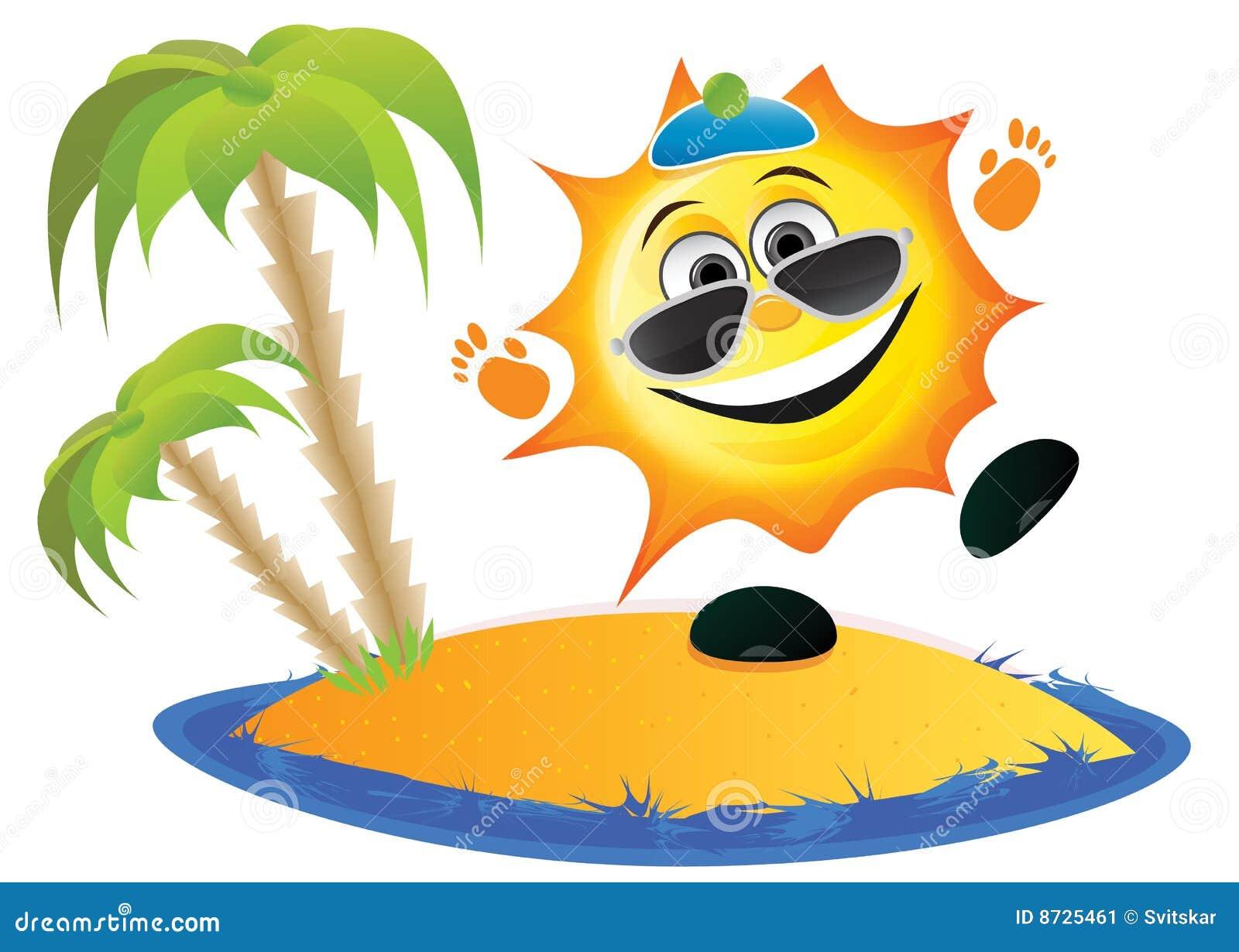 Dessin Vacances Soleil