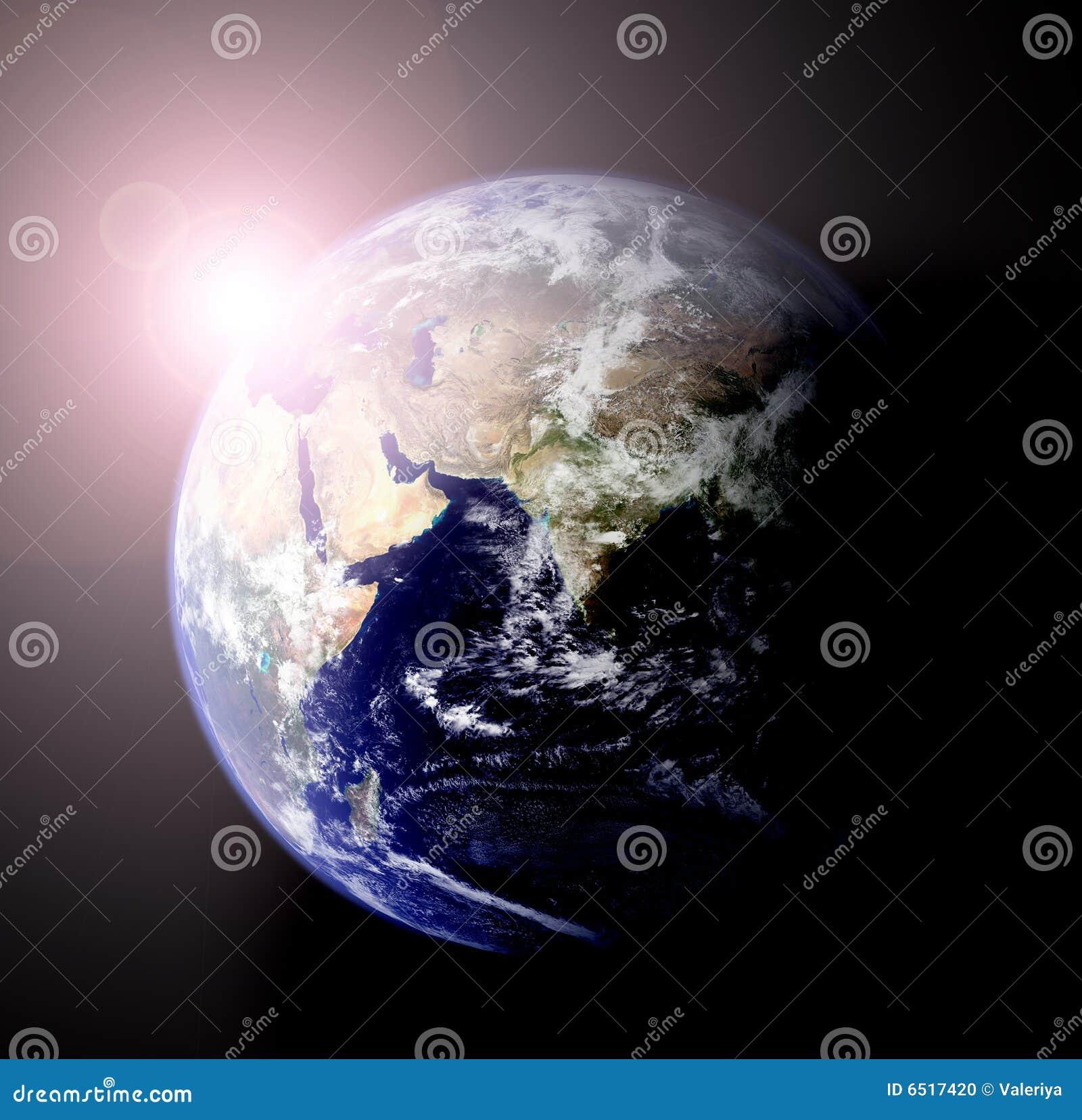 Le soleil de la terre