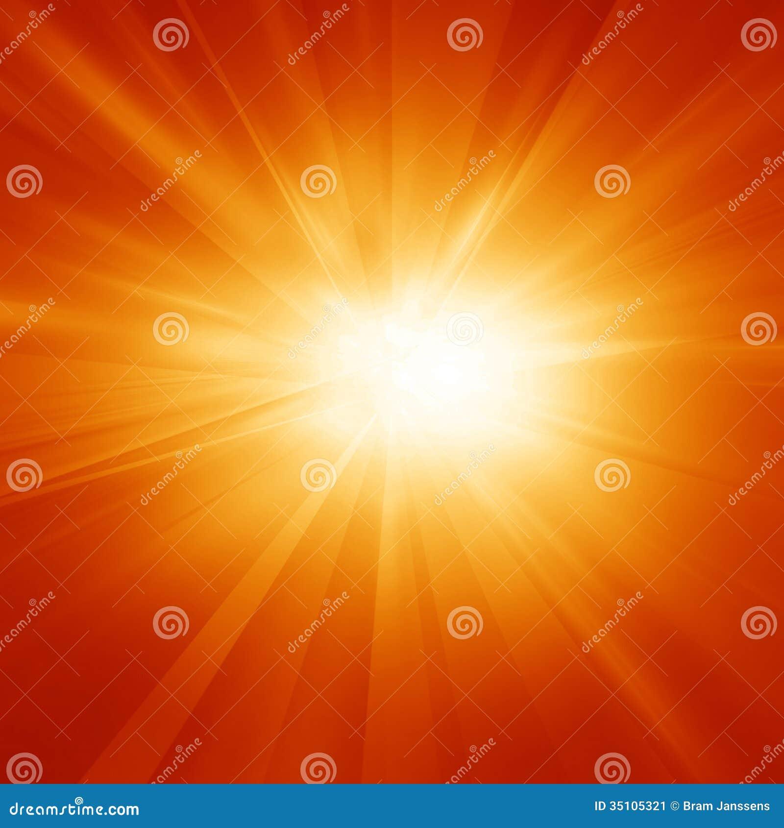 Le soleil lumineux d été