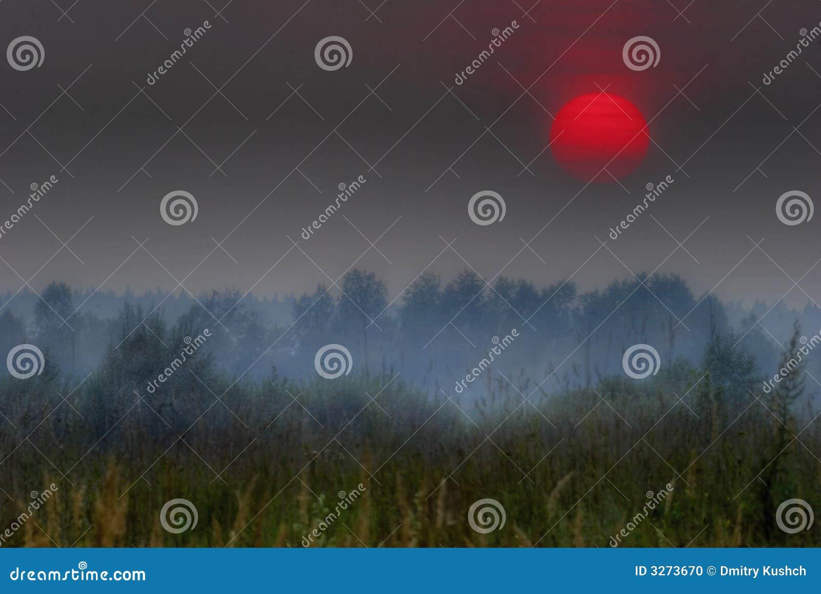 Le soleil rouge de la Russie