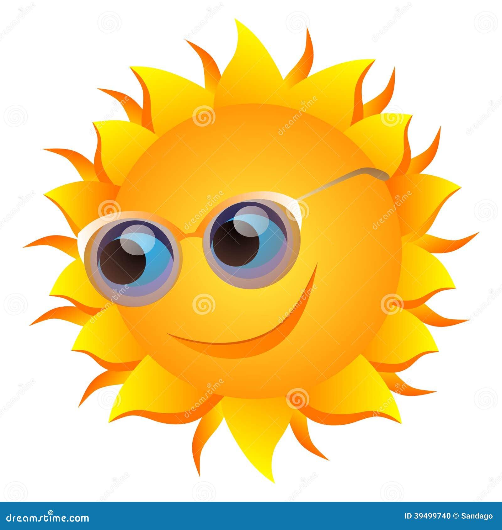 Le solen med exponeringsglas