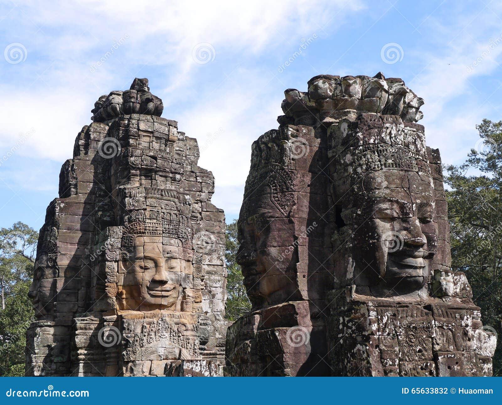 Le sourire de Bayon Seim récoltent, le Cambodge