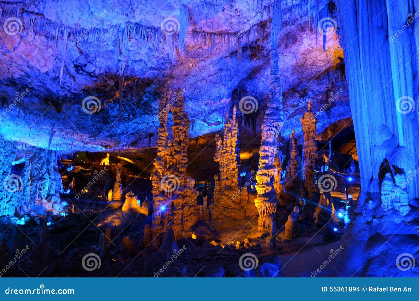 Le stalattiti di Avshalom scavano - Israele
