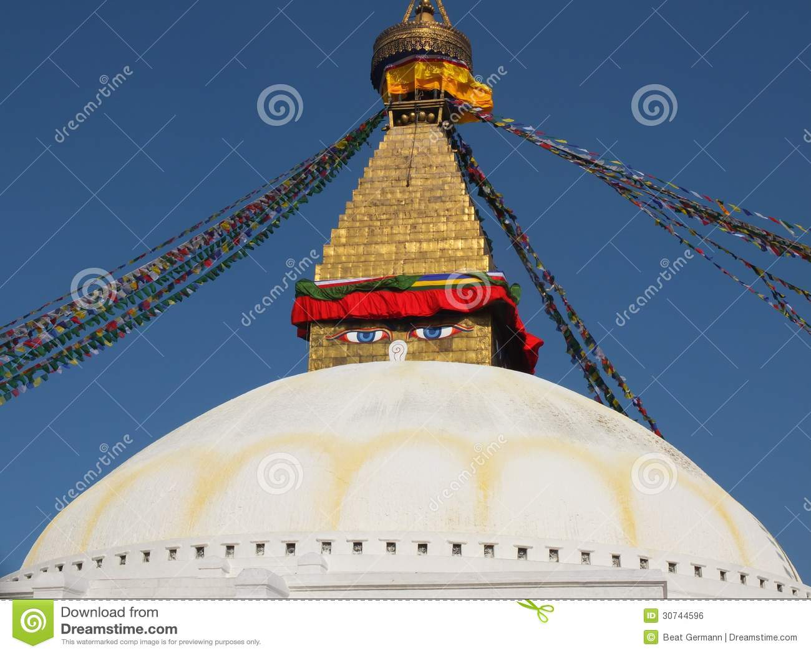 Le Stupa de Bodnath, Népal
